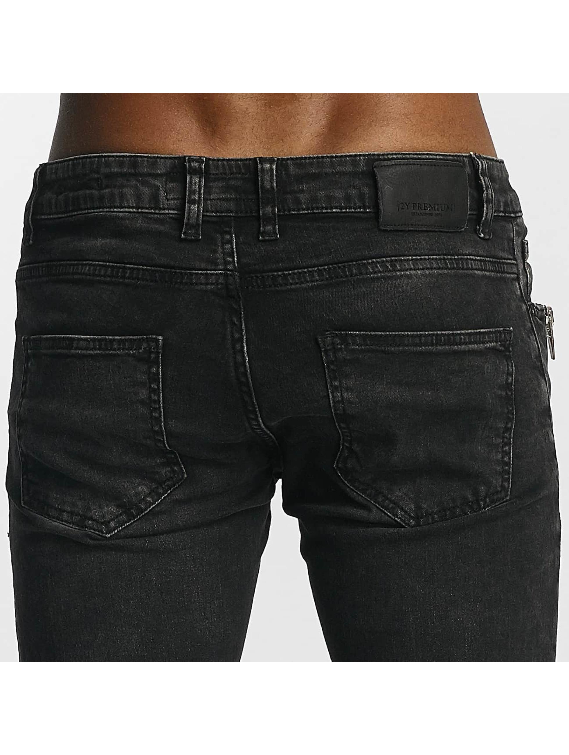 2Y Jeans ajustado Thomas gris