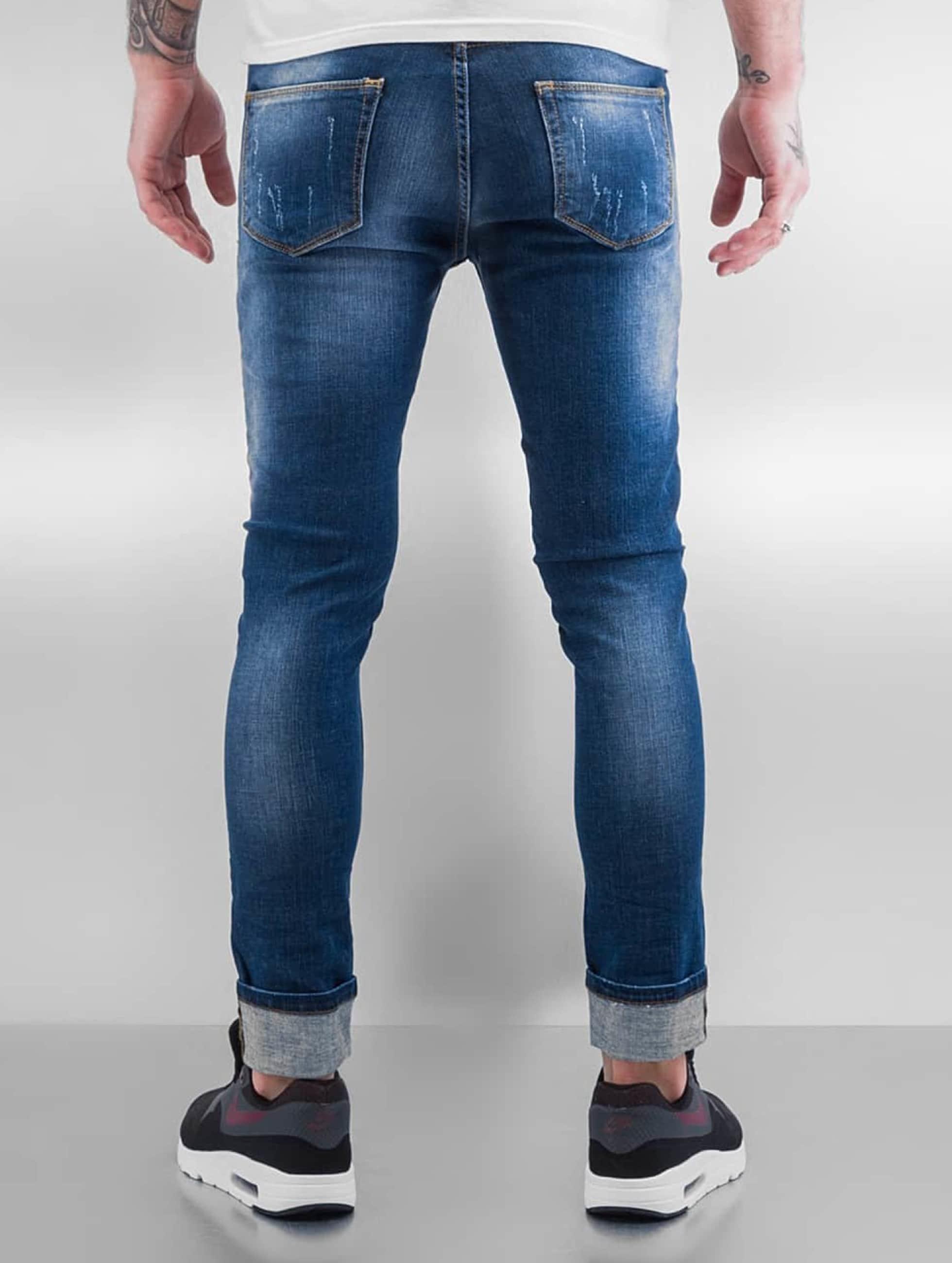 2Y Jeans slim fit Ypern blu