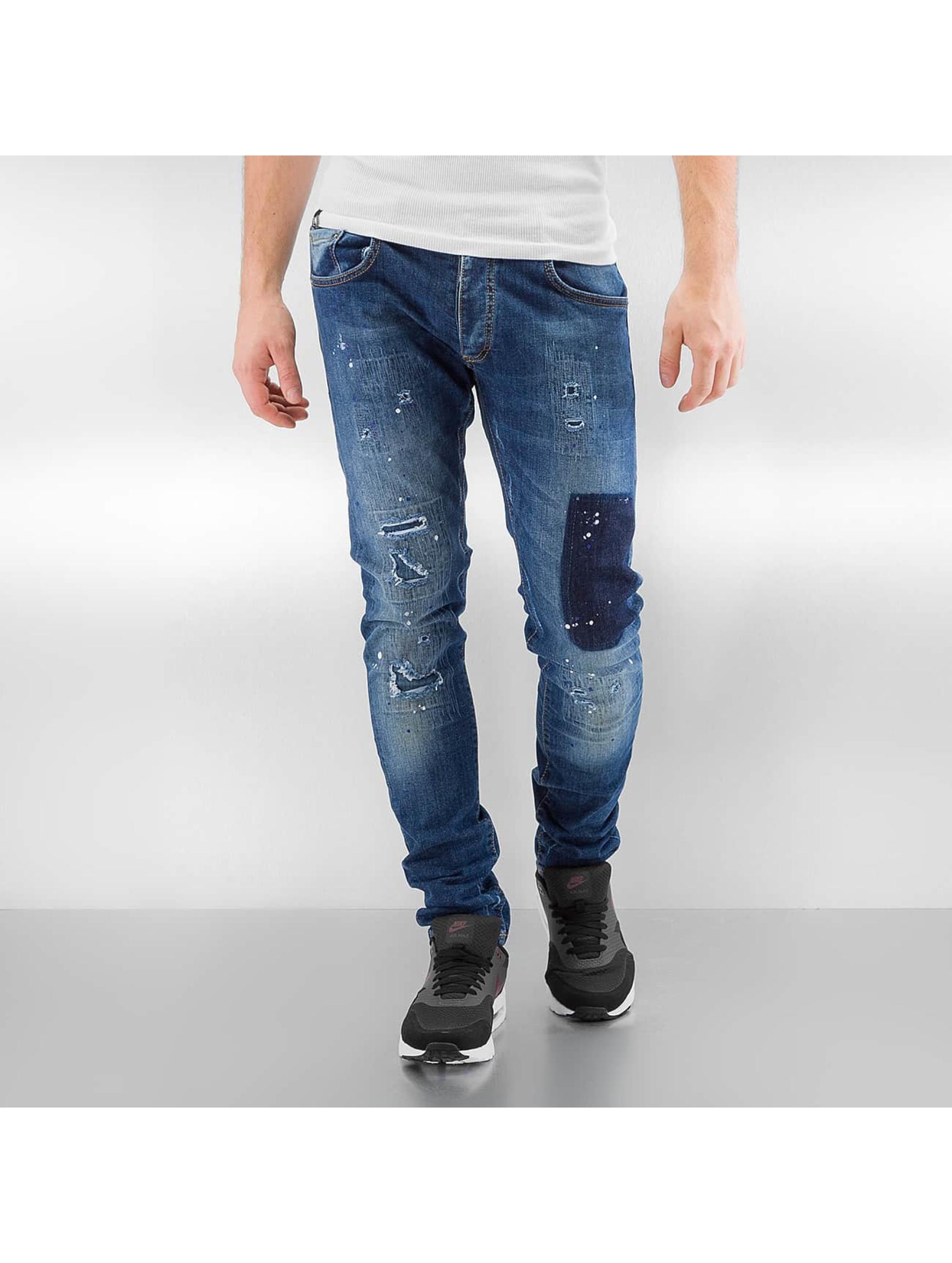 2Y Jeans slim fit Worn blu