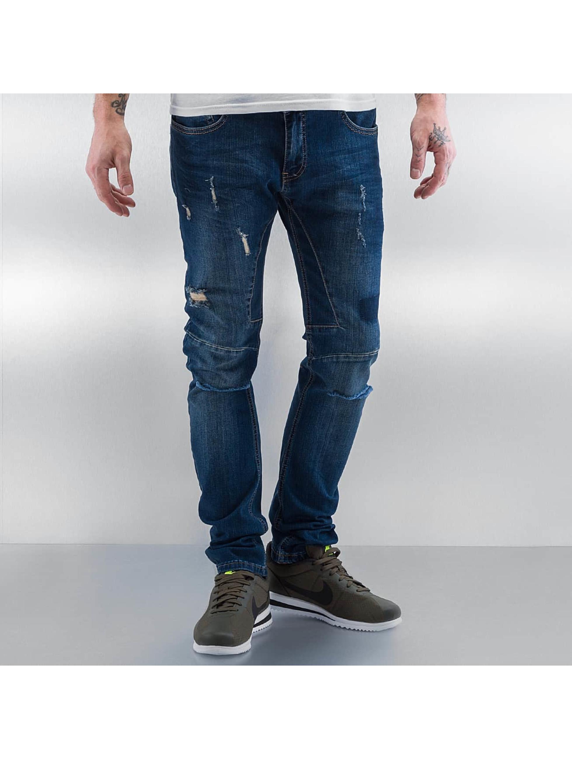 2Y Jeans slim fit Brest blu