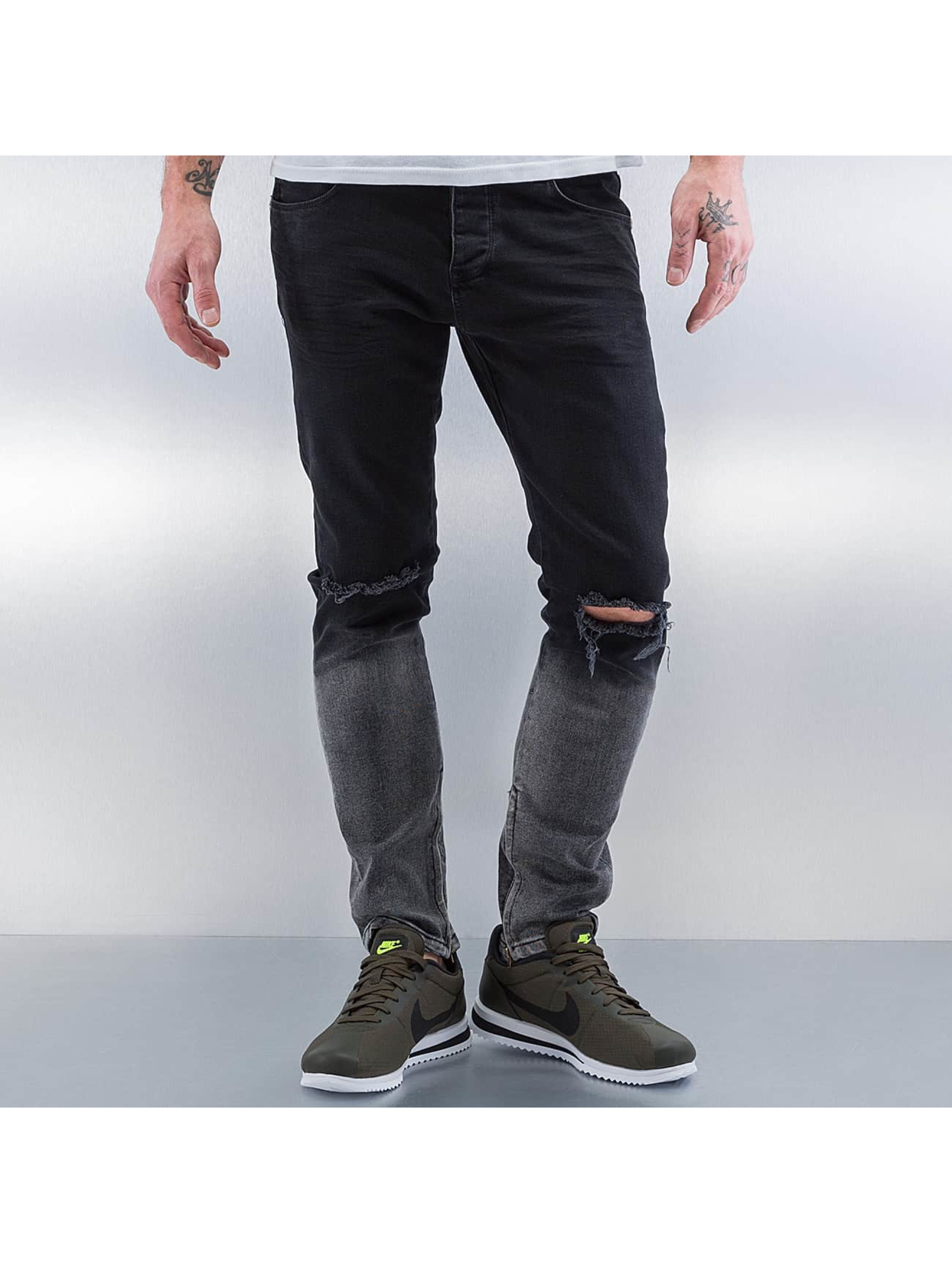 2Y Jeans slim fit Two Tone nero