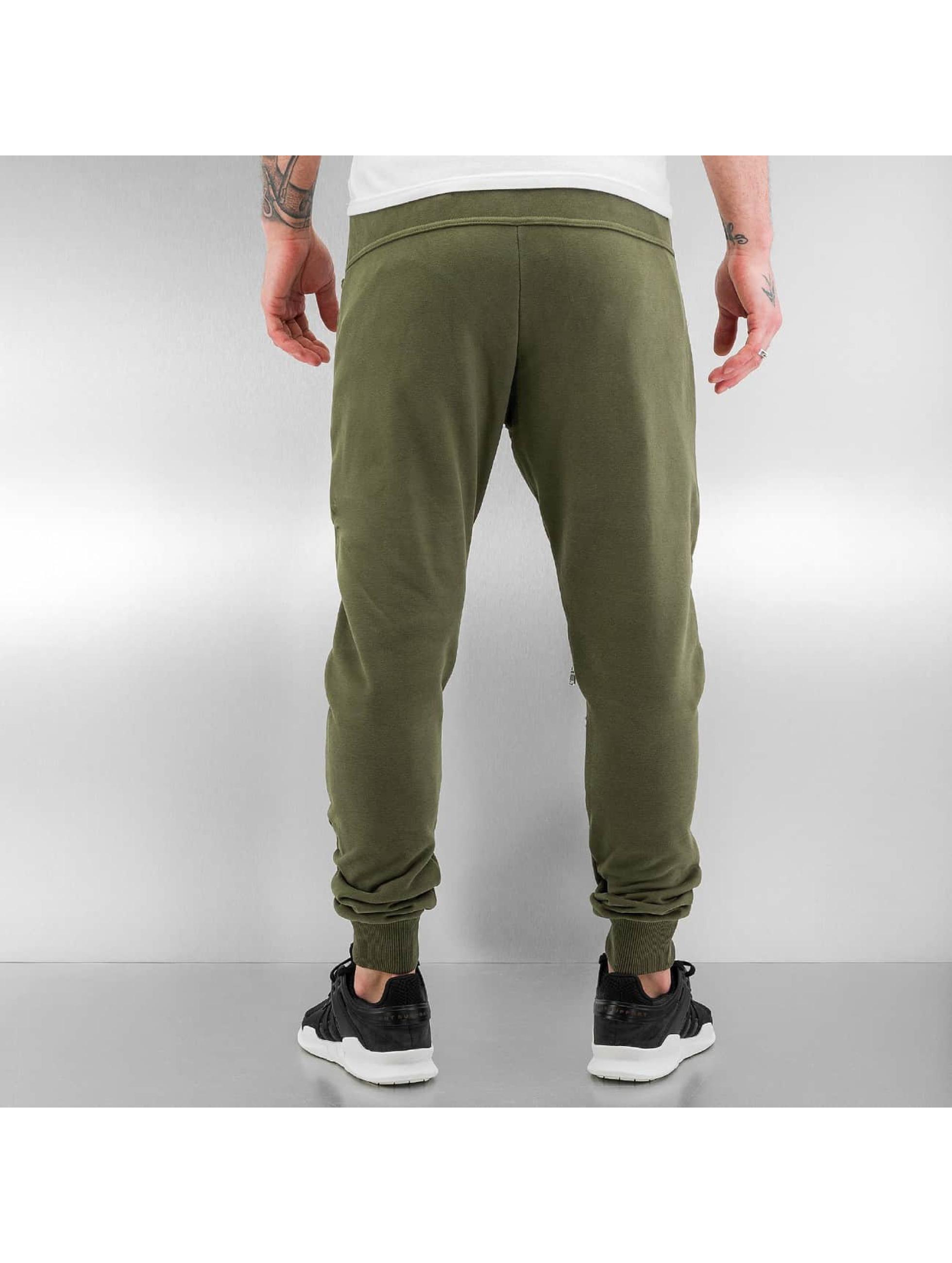 2Y Joggingbukser Zip khaki