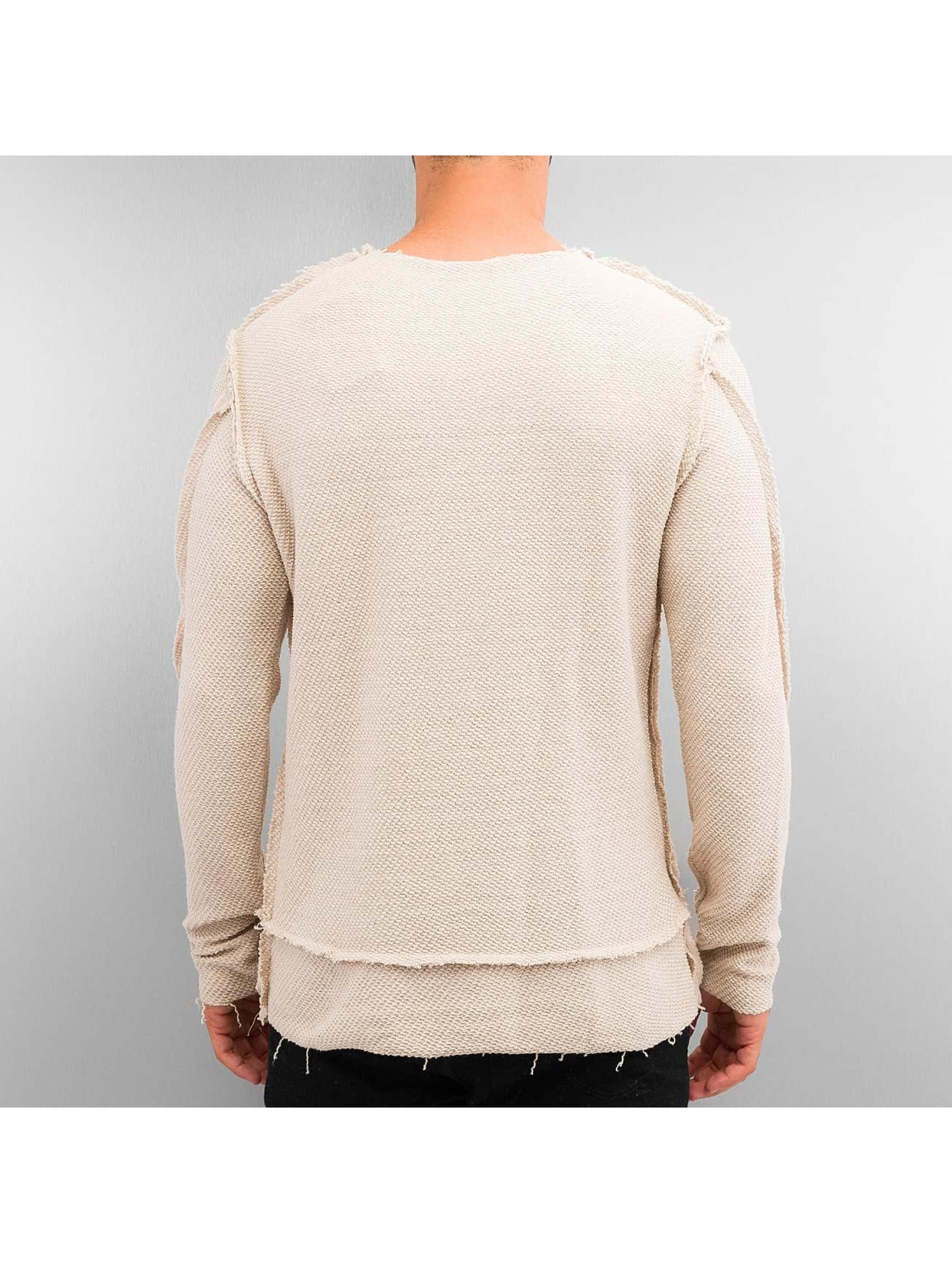 2y herren pullover gilge in beige 300170. Black Bedroom Furniture Sets. Home Design Ideas