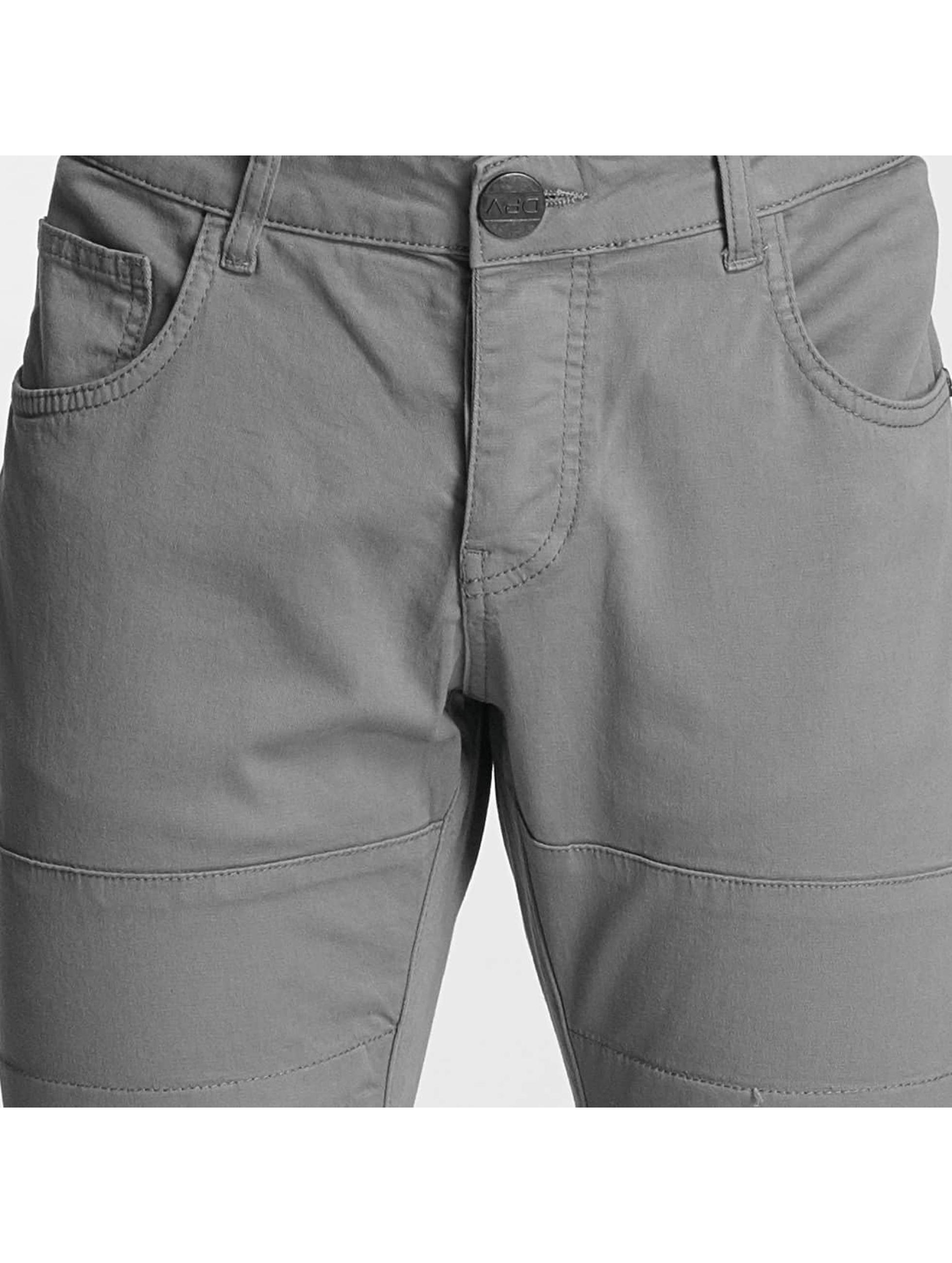 2Y Skinny Jeans Tiron šedá