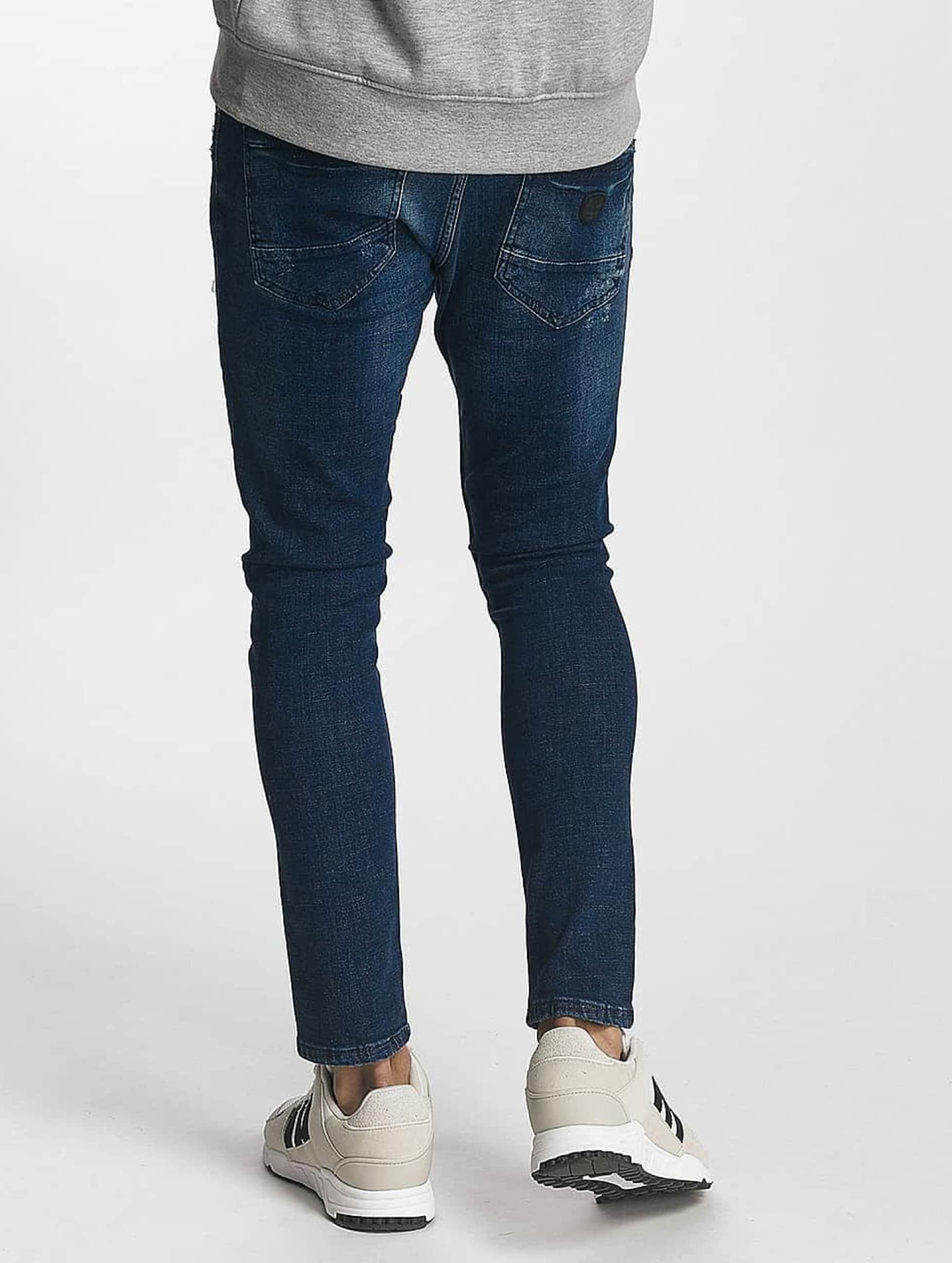 2Y Skinny jeans Oscar blå