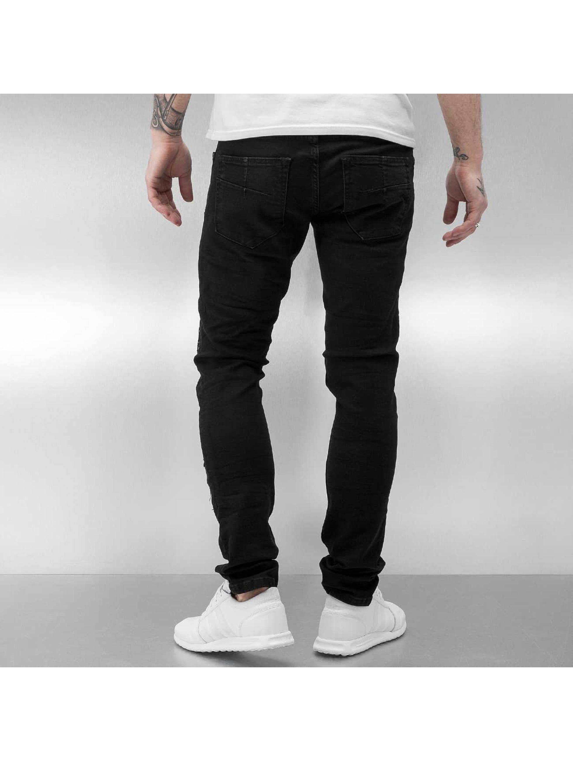 2Y Skinny Jeans Rugga black