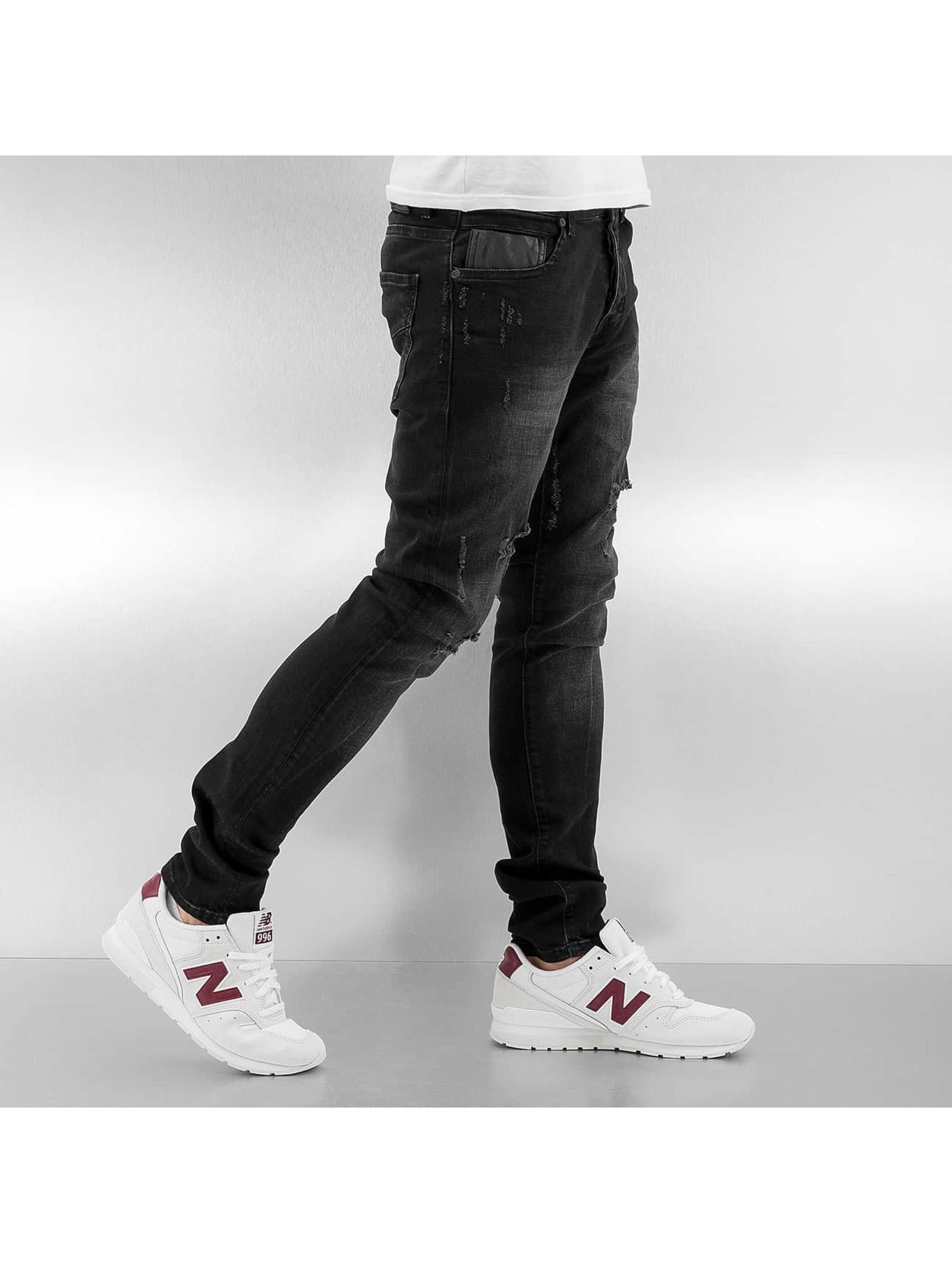 2Y Skinny Jeans Obbo black