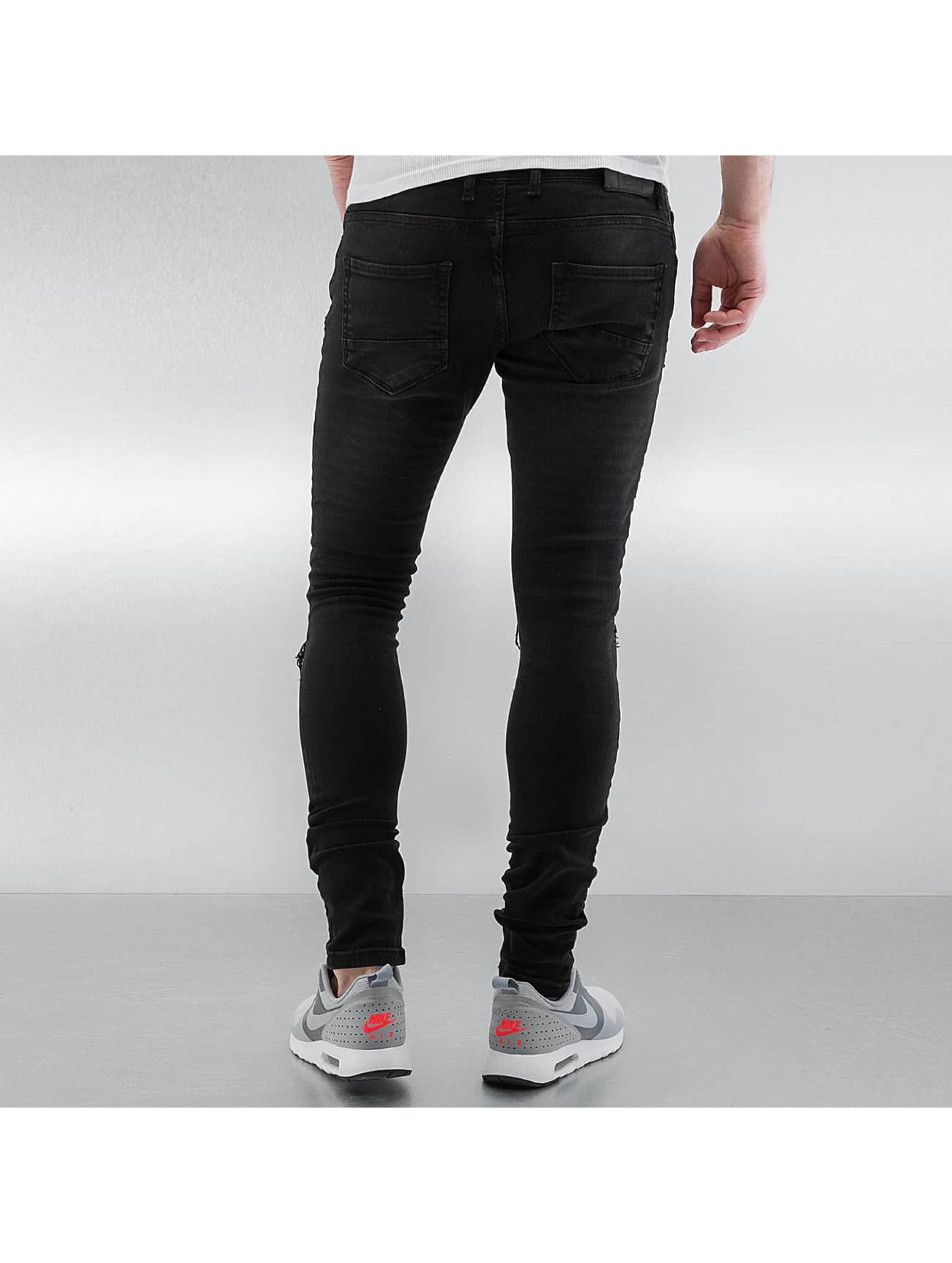 2Y Skinny Jeans Albufeira black