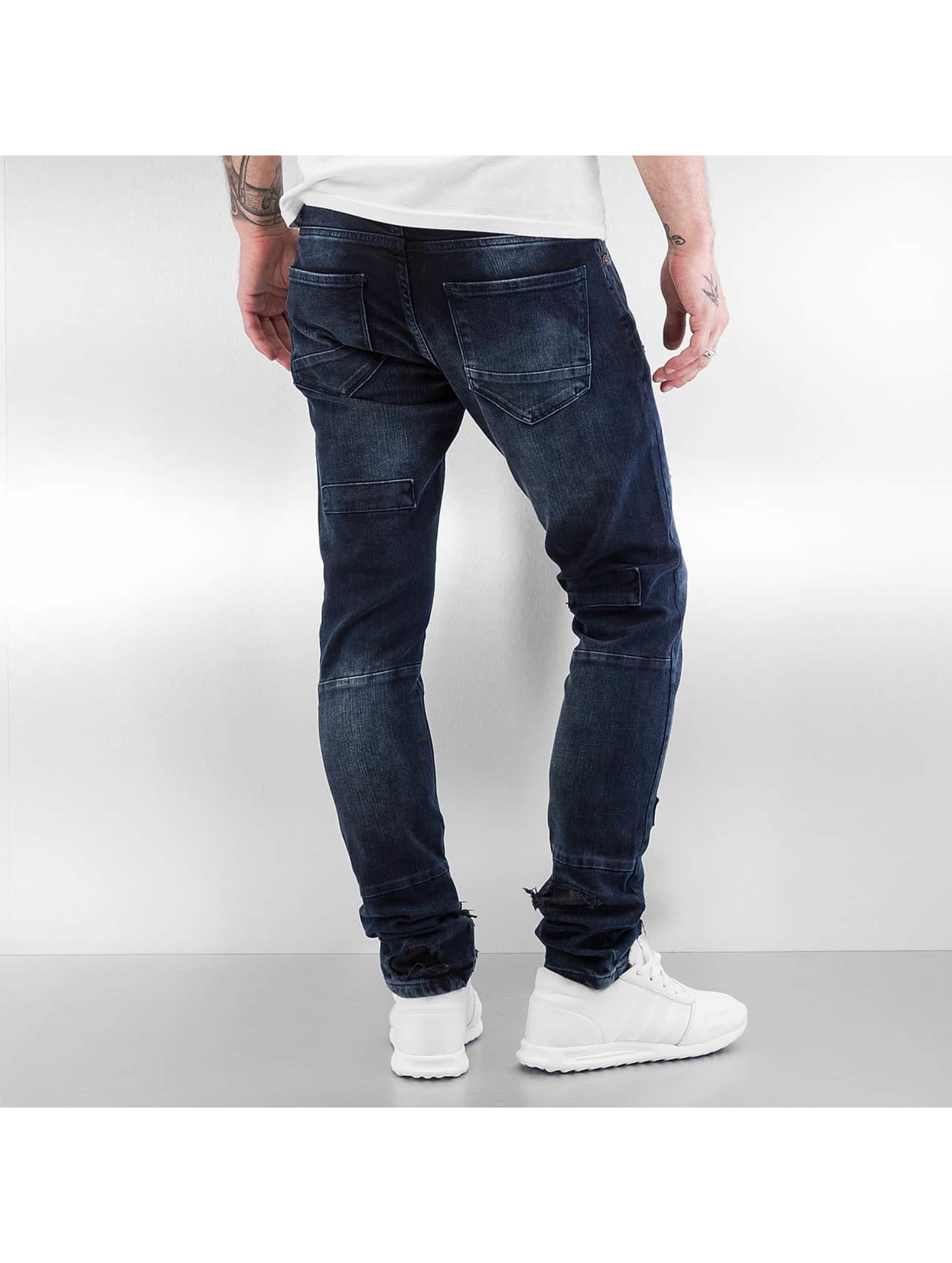 2Y Skinny Jeans Kun blau