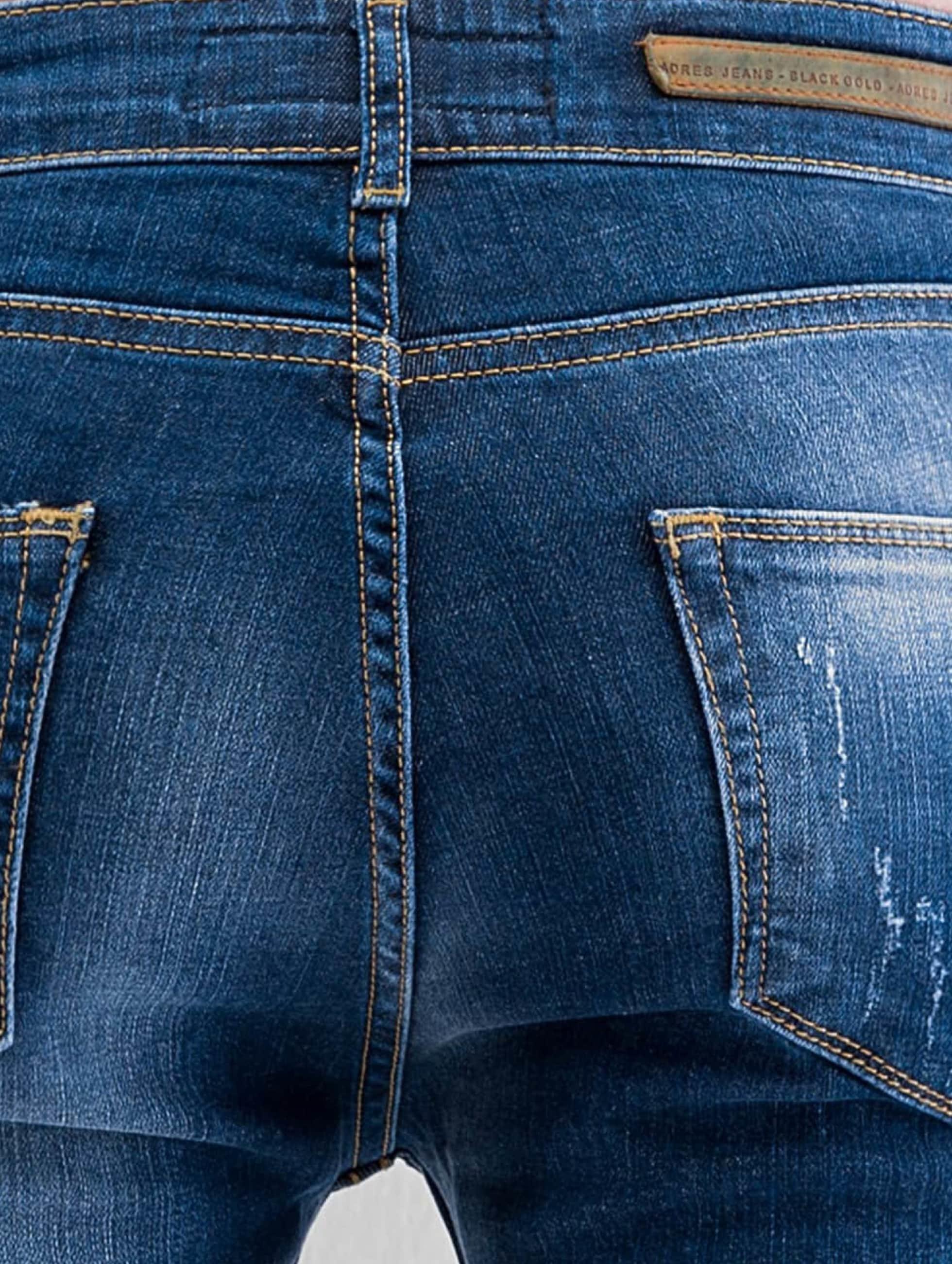 2Y Skinny Jeans Ypern blau