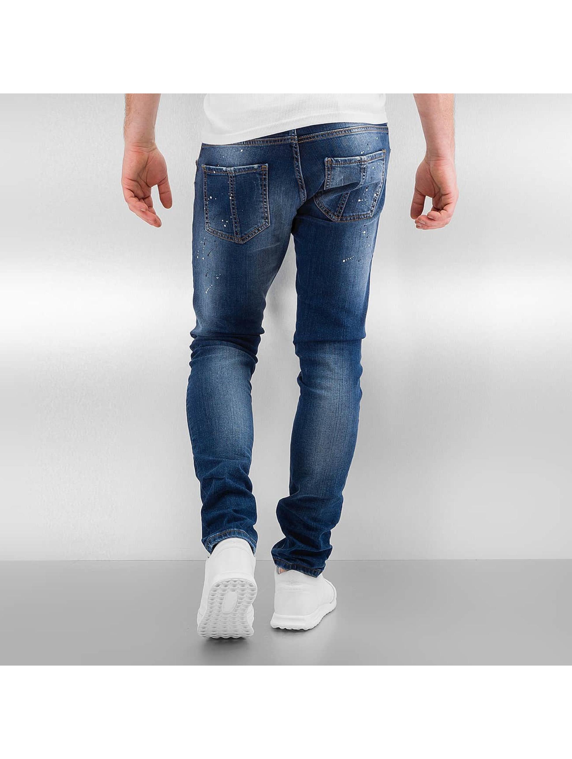 2Y Skinny Jeans Naresh blau