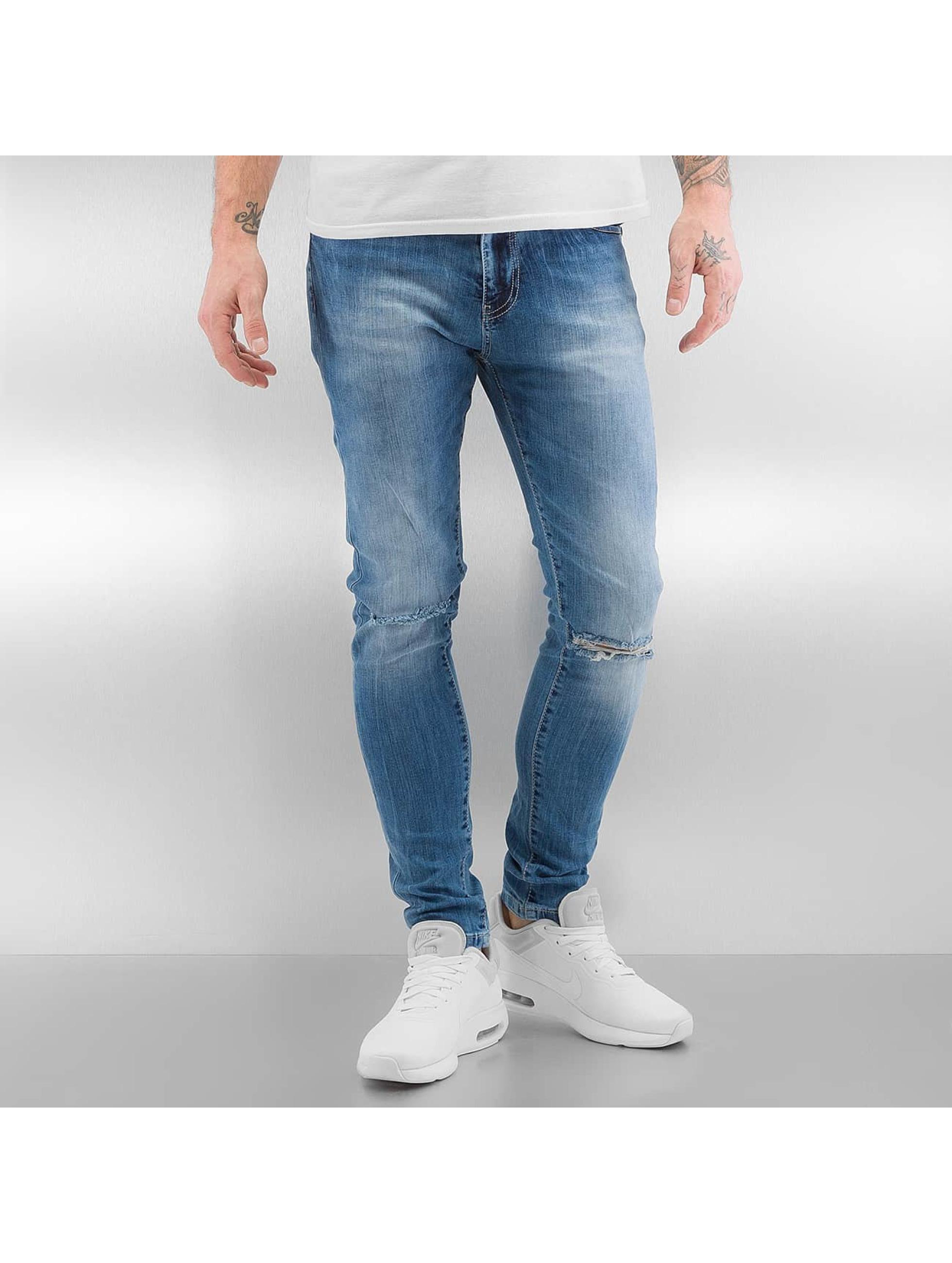 Skinny Jeans Yuta in blau