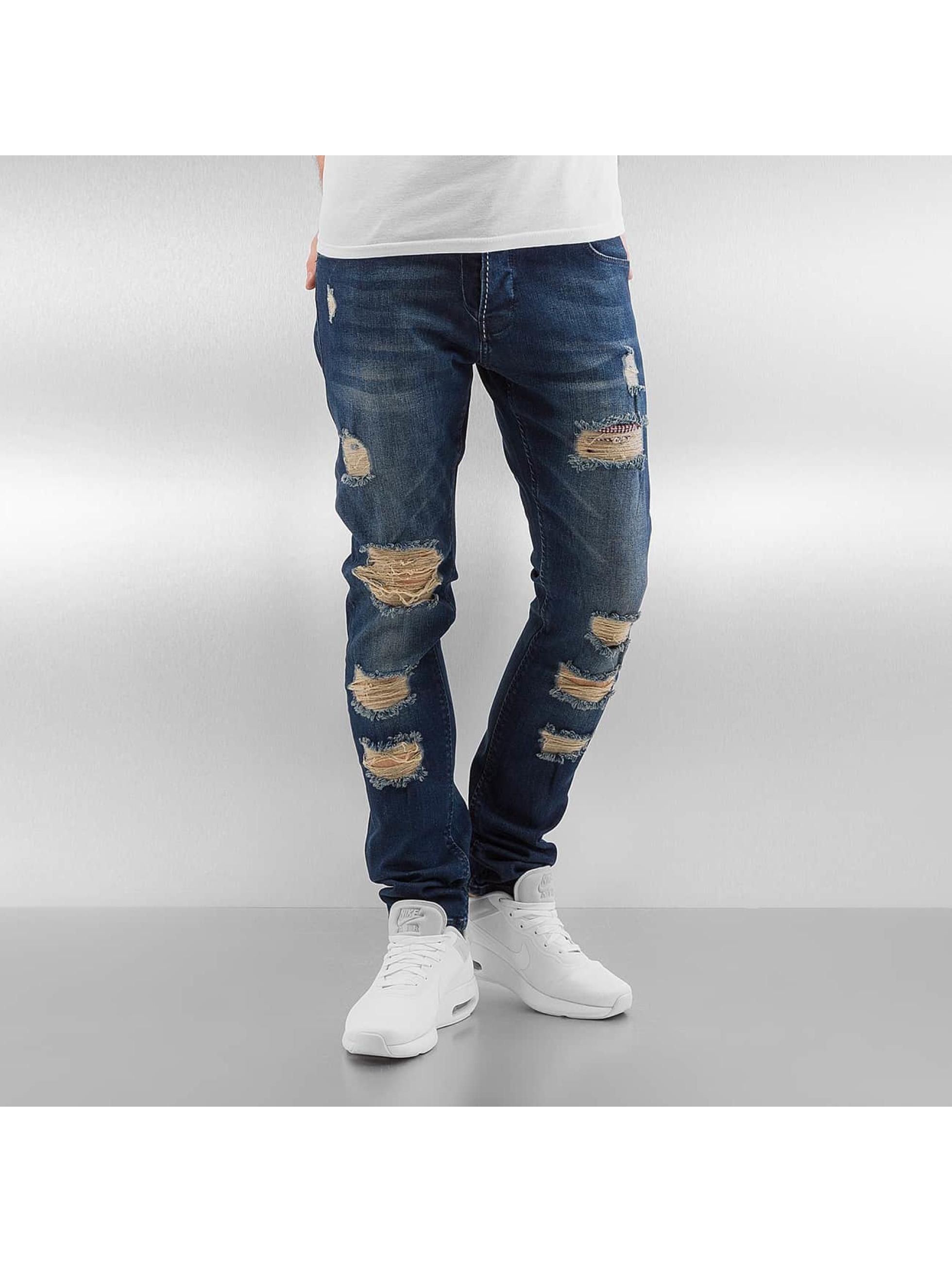Skinny Jeans Grover in blau