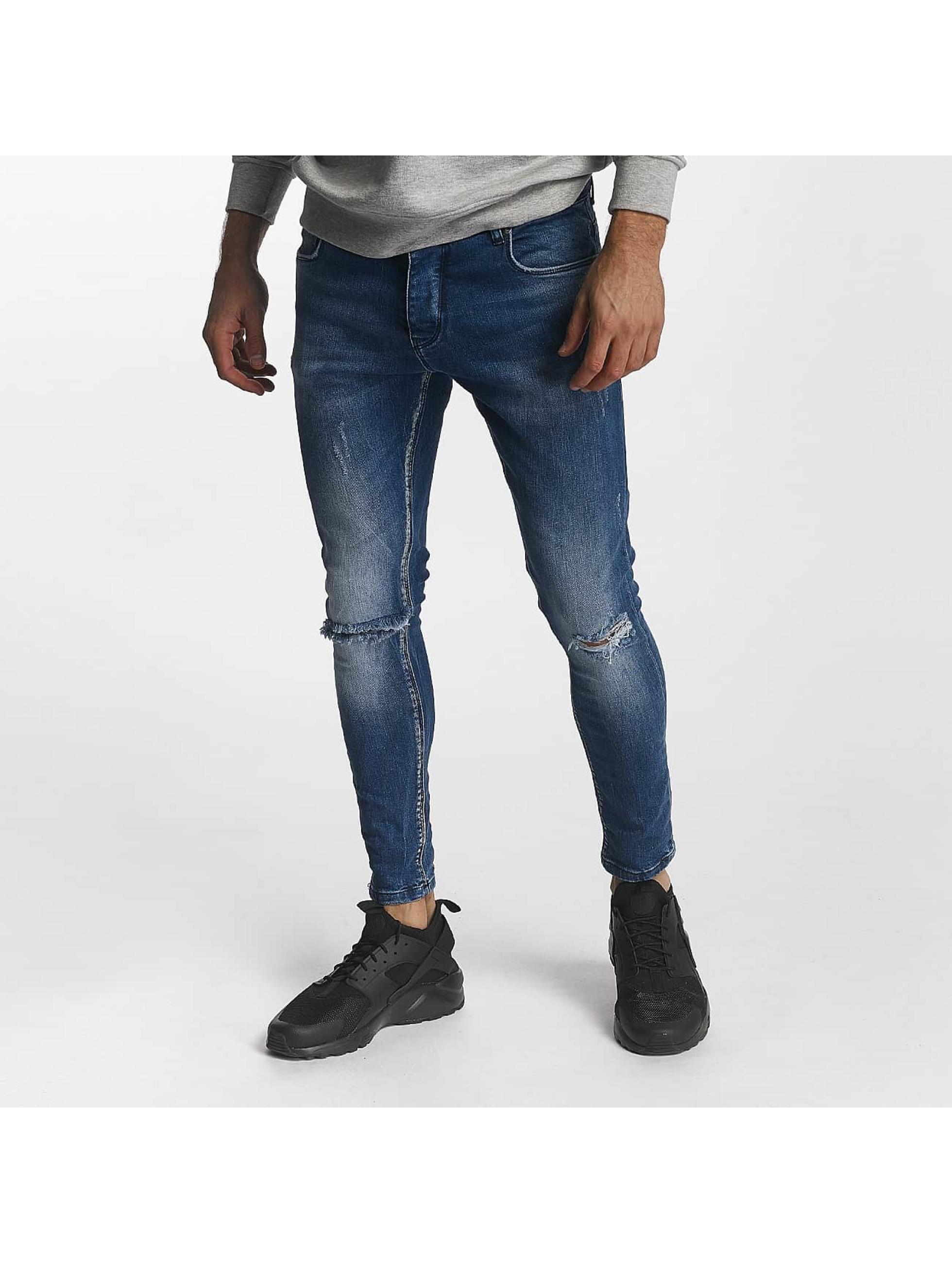 2Y Skinny Jeans Jack blau