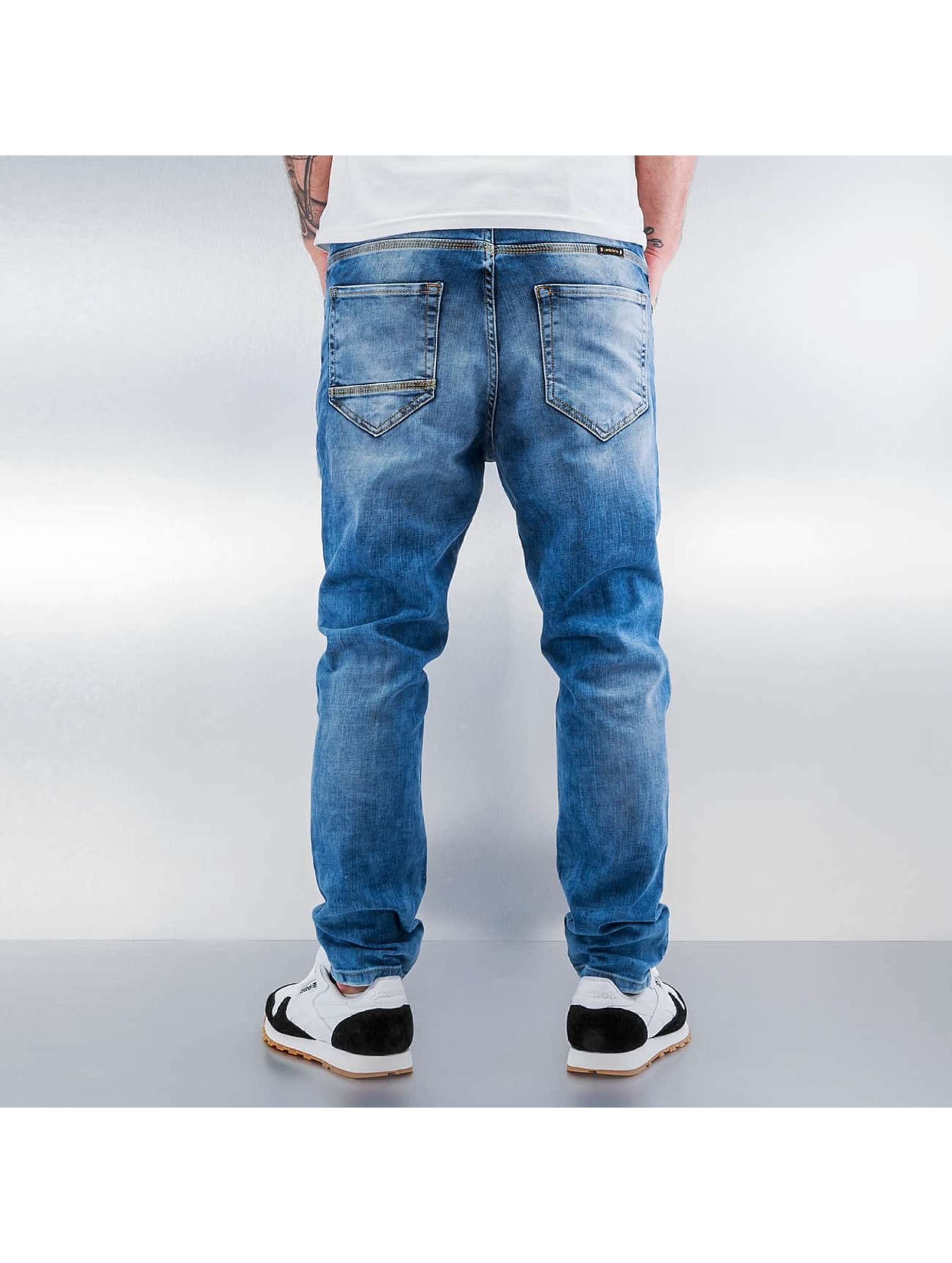 2Y Skinny Jeans Patchwork blue