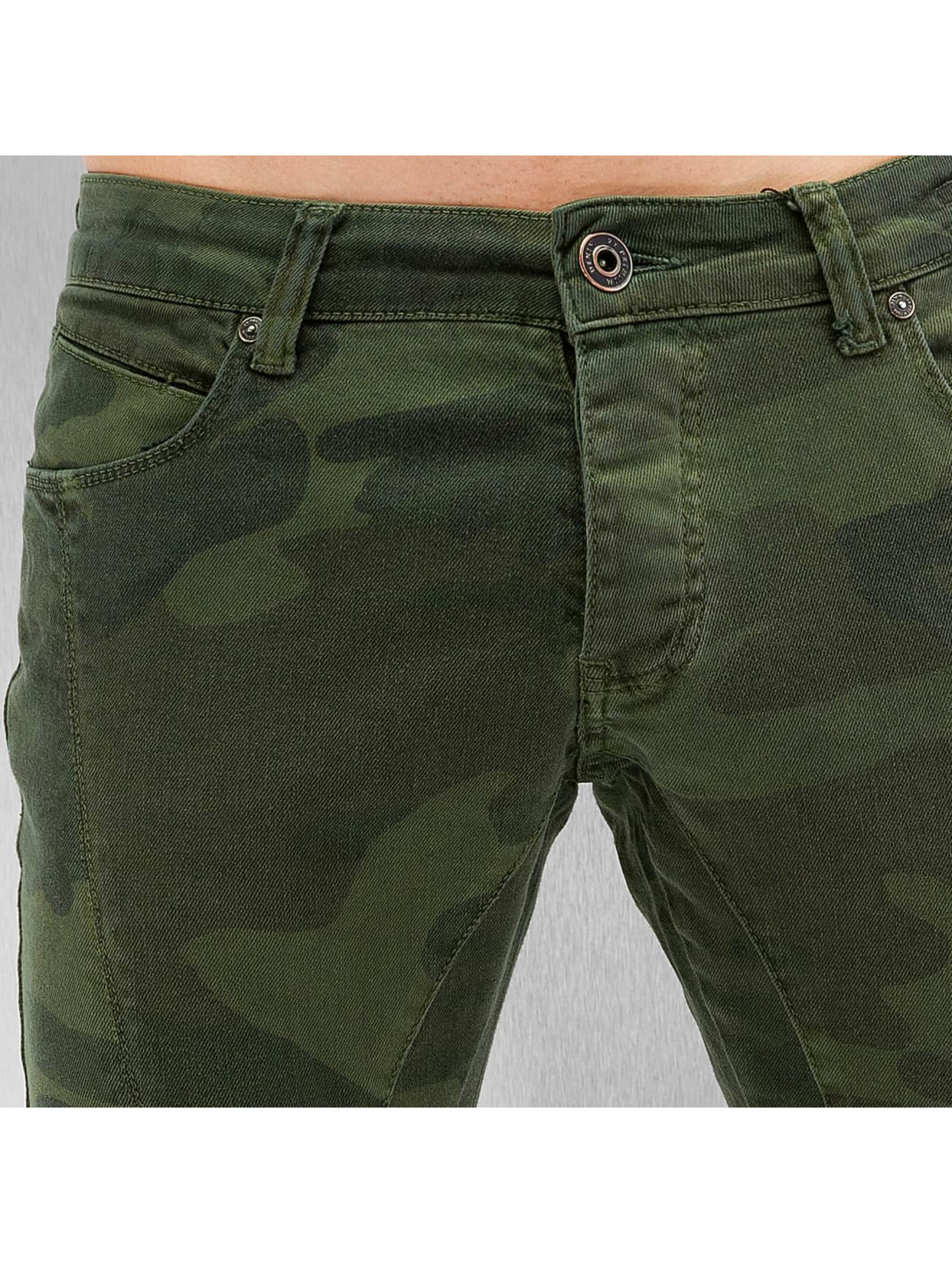 2Y Skinny Jeans Faro camouflage