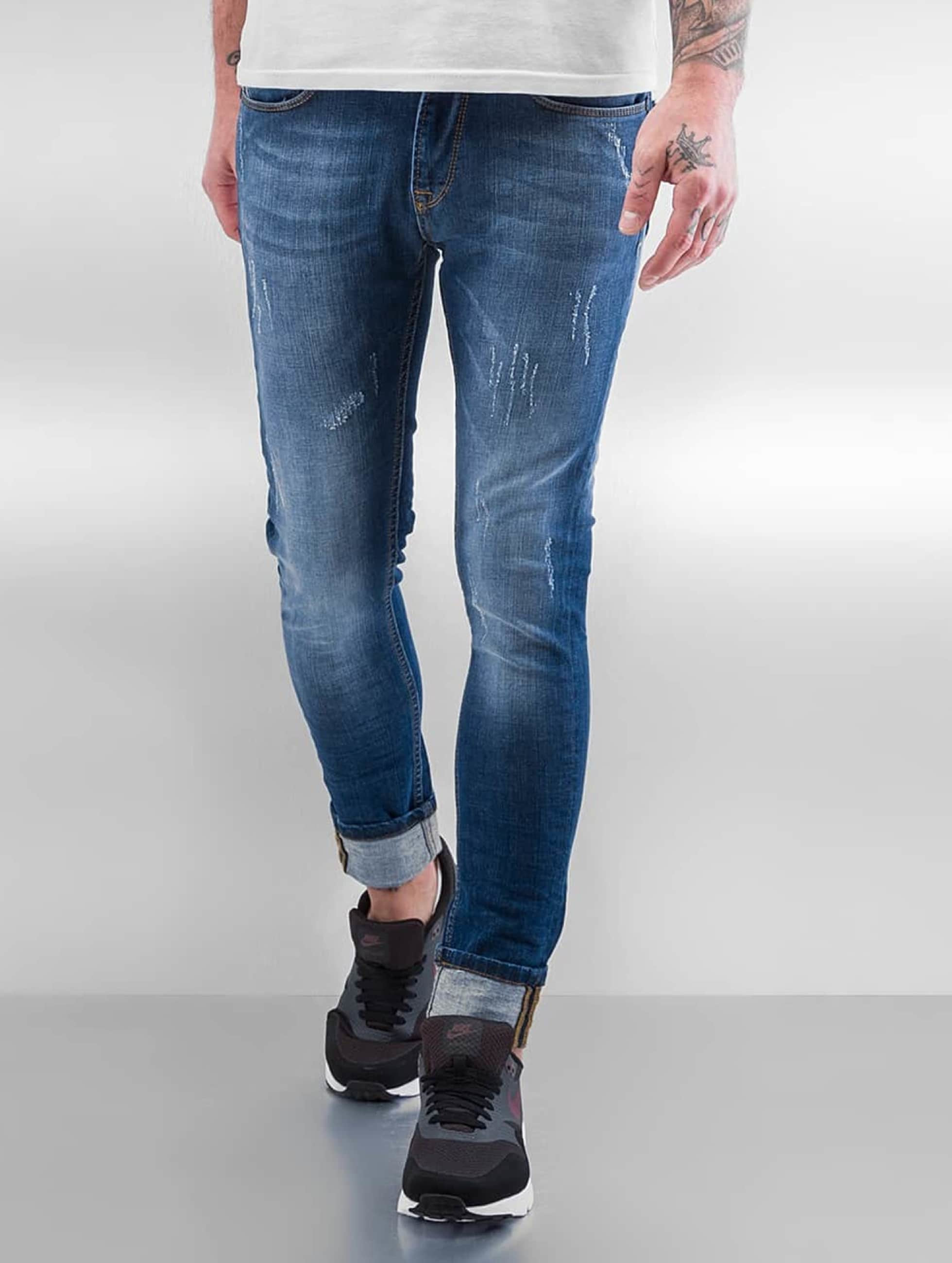 2Y Skinny Jeans Ypern niebieski