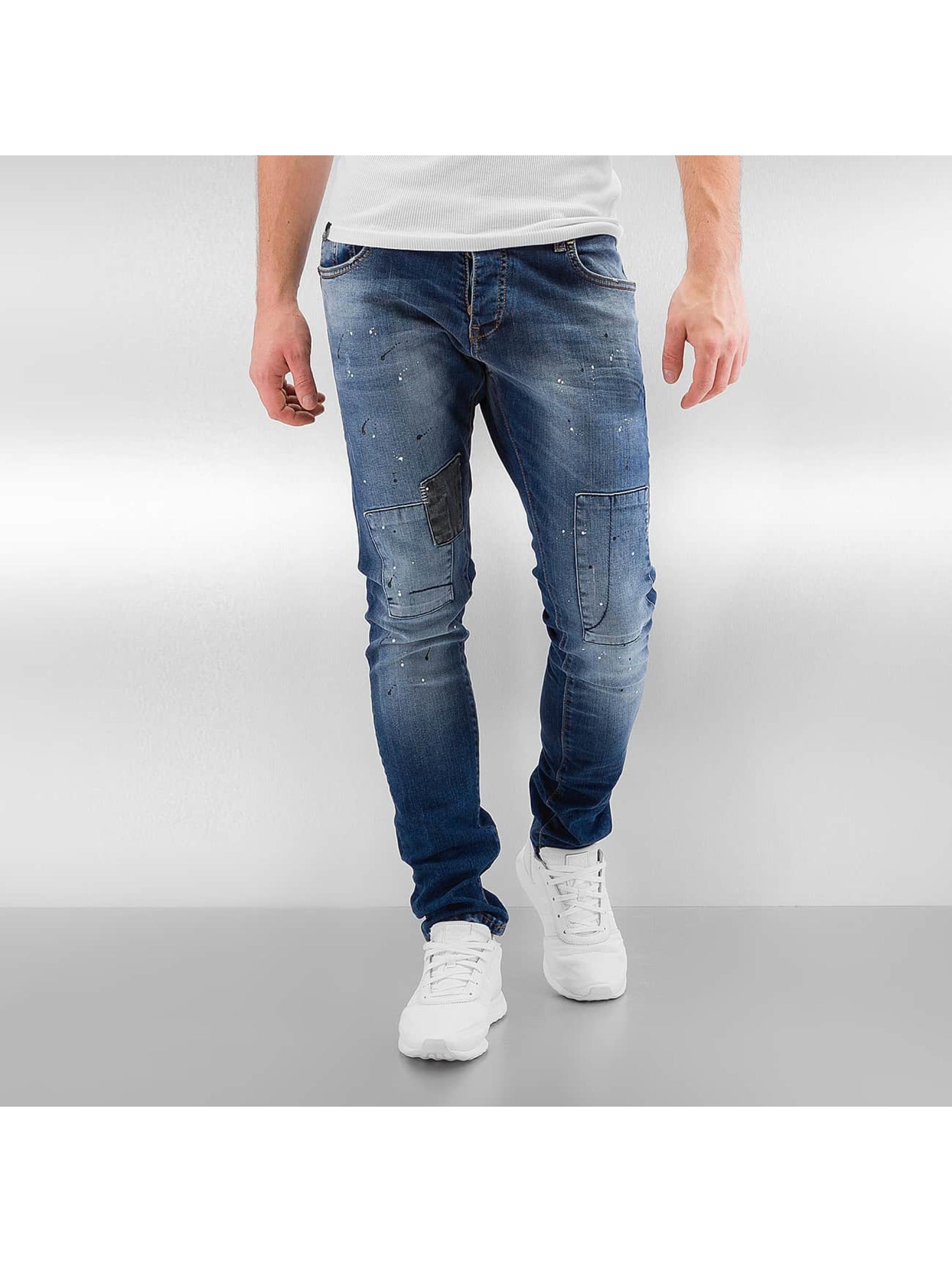 2Y Skinny Jeans Naresh niebieski