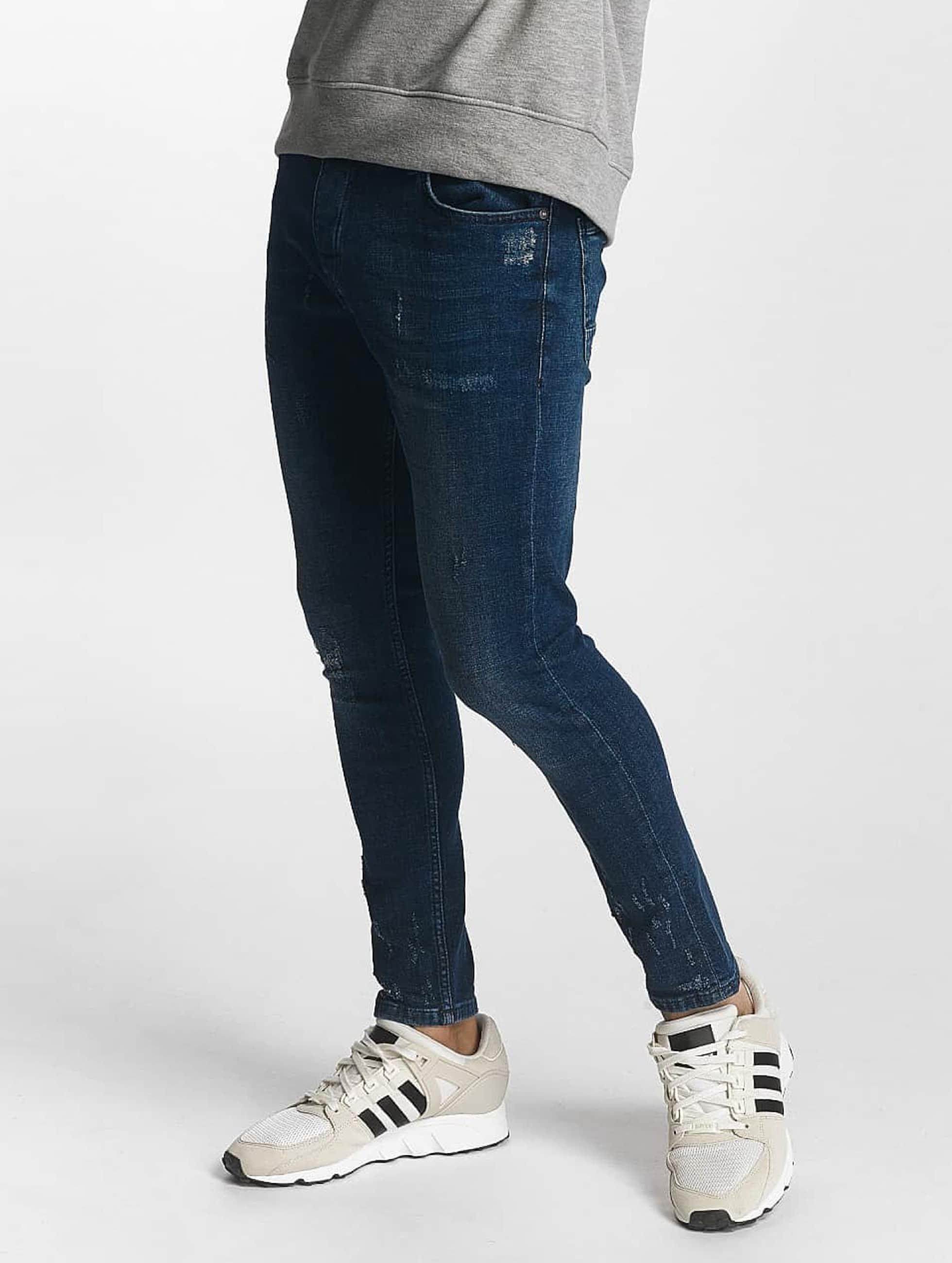 2Y Skinny Jeans Oscar niebieski