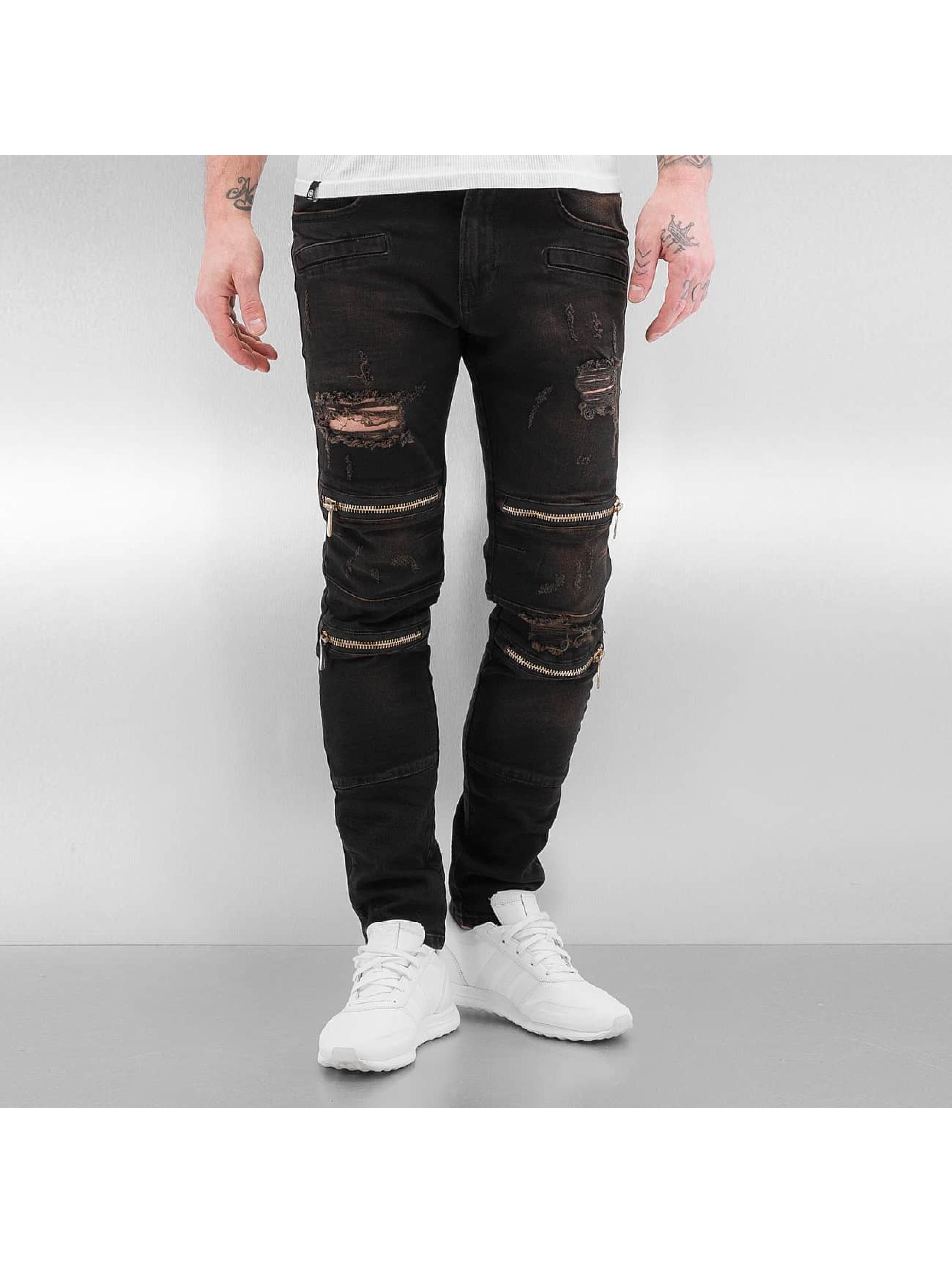 Skinny Jeans Braga II in schwarz