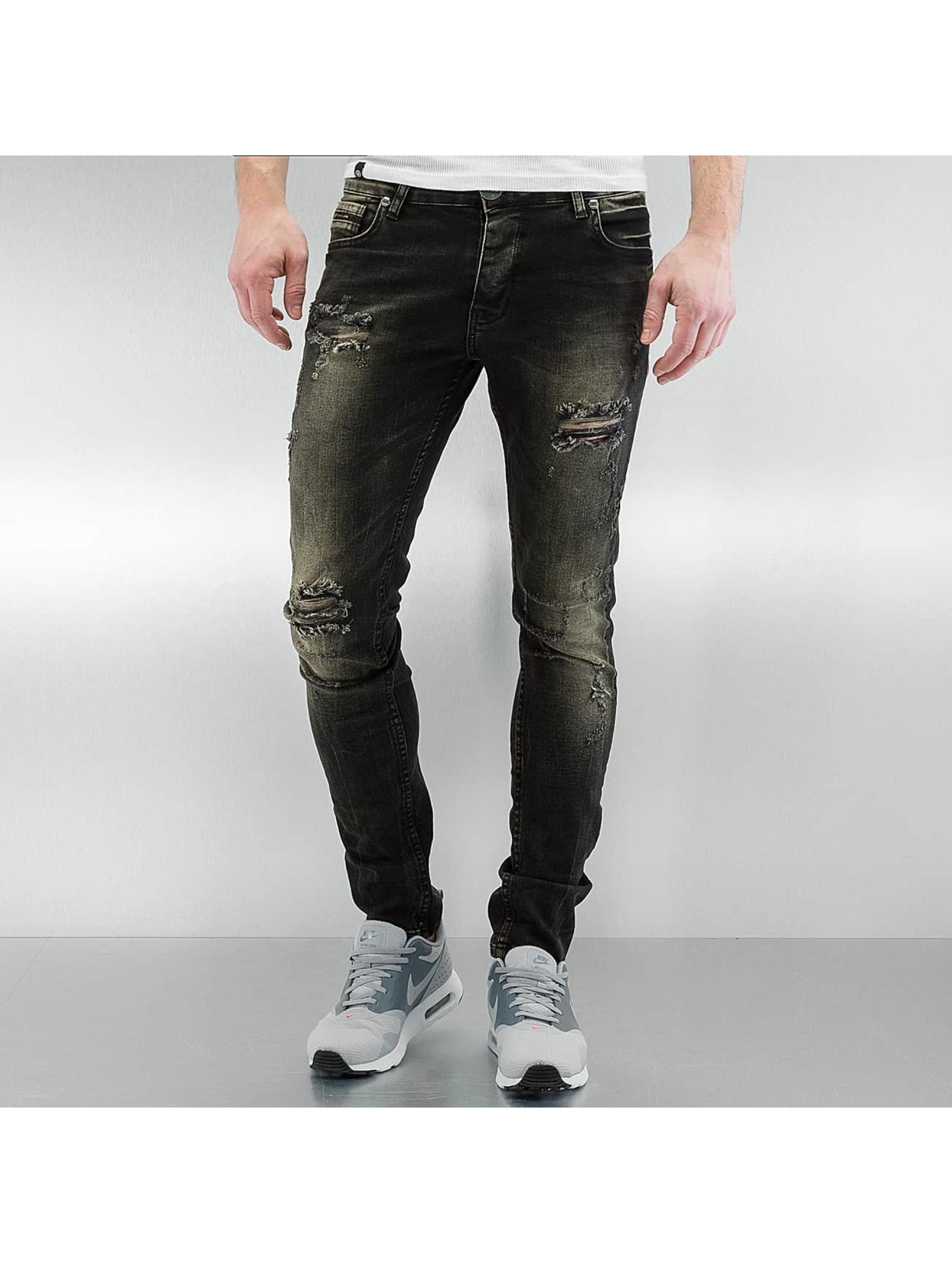 Skinny Jeans Cascais in schwarz