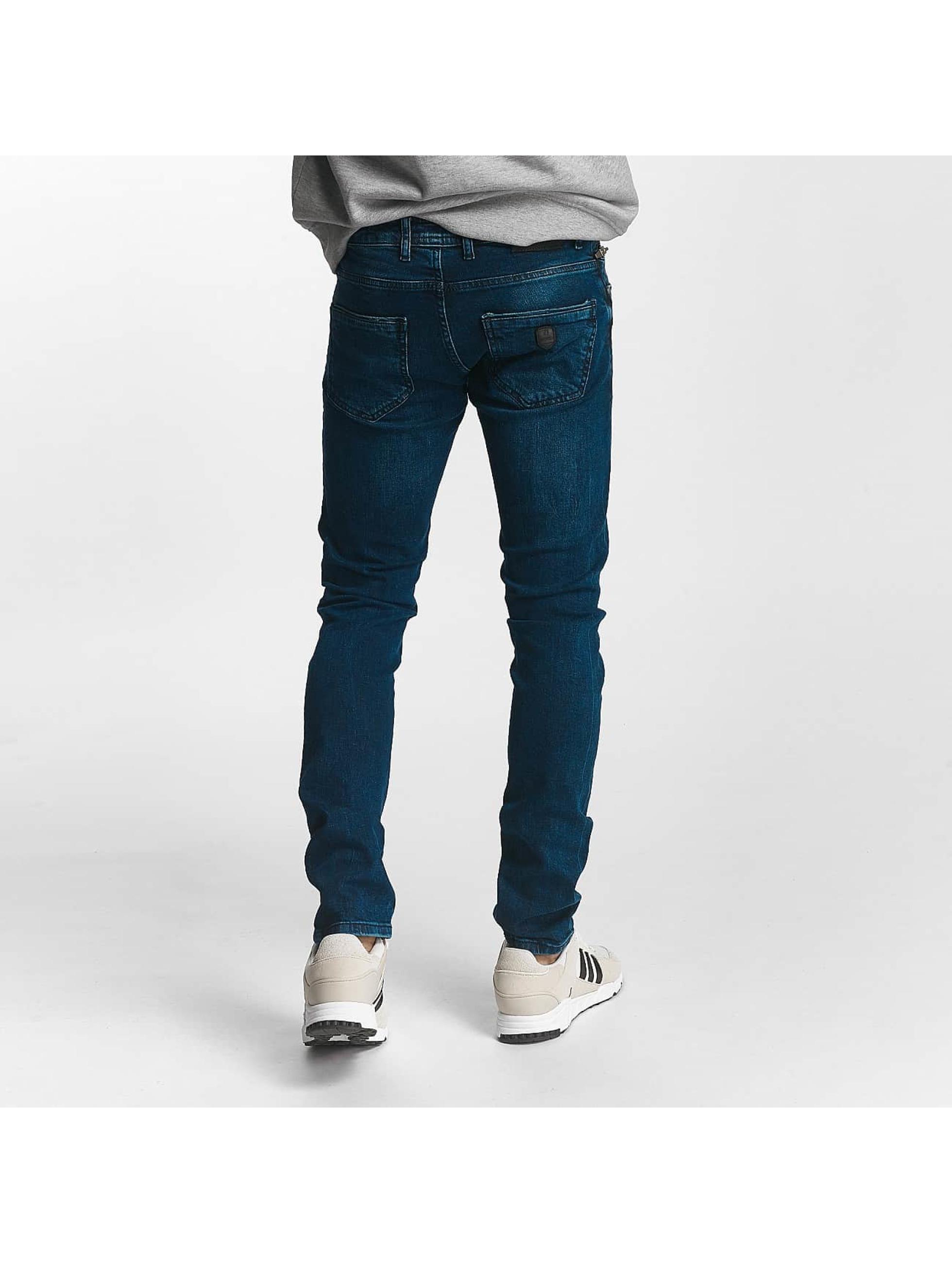 2Y Slim Fit -farkut Leo sininen