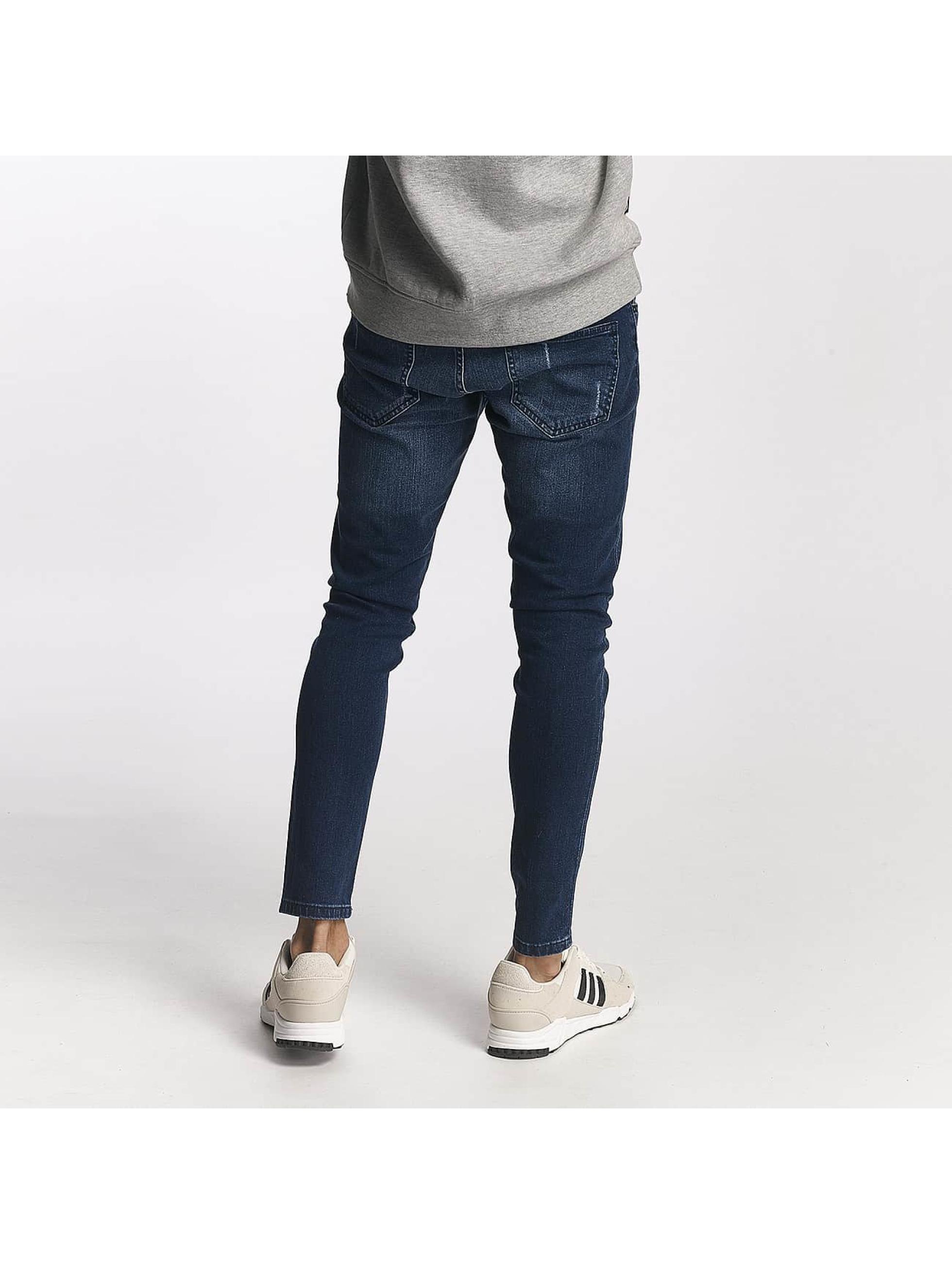 2Y Slim Fit -farkut Henry sininen