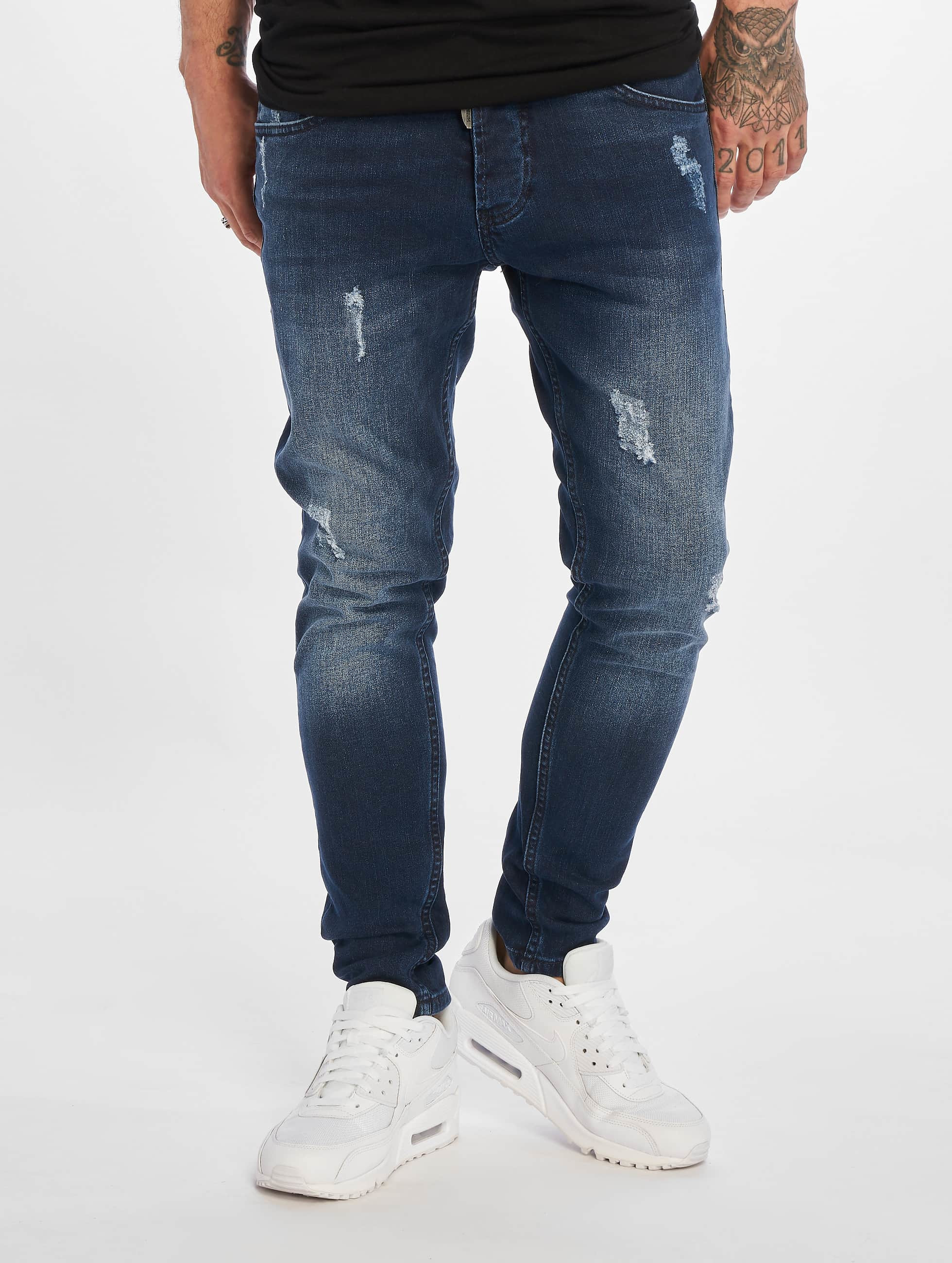 2Y Slim Fit -farkut Charlie sininen