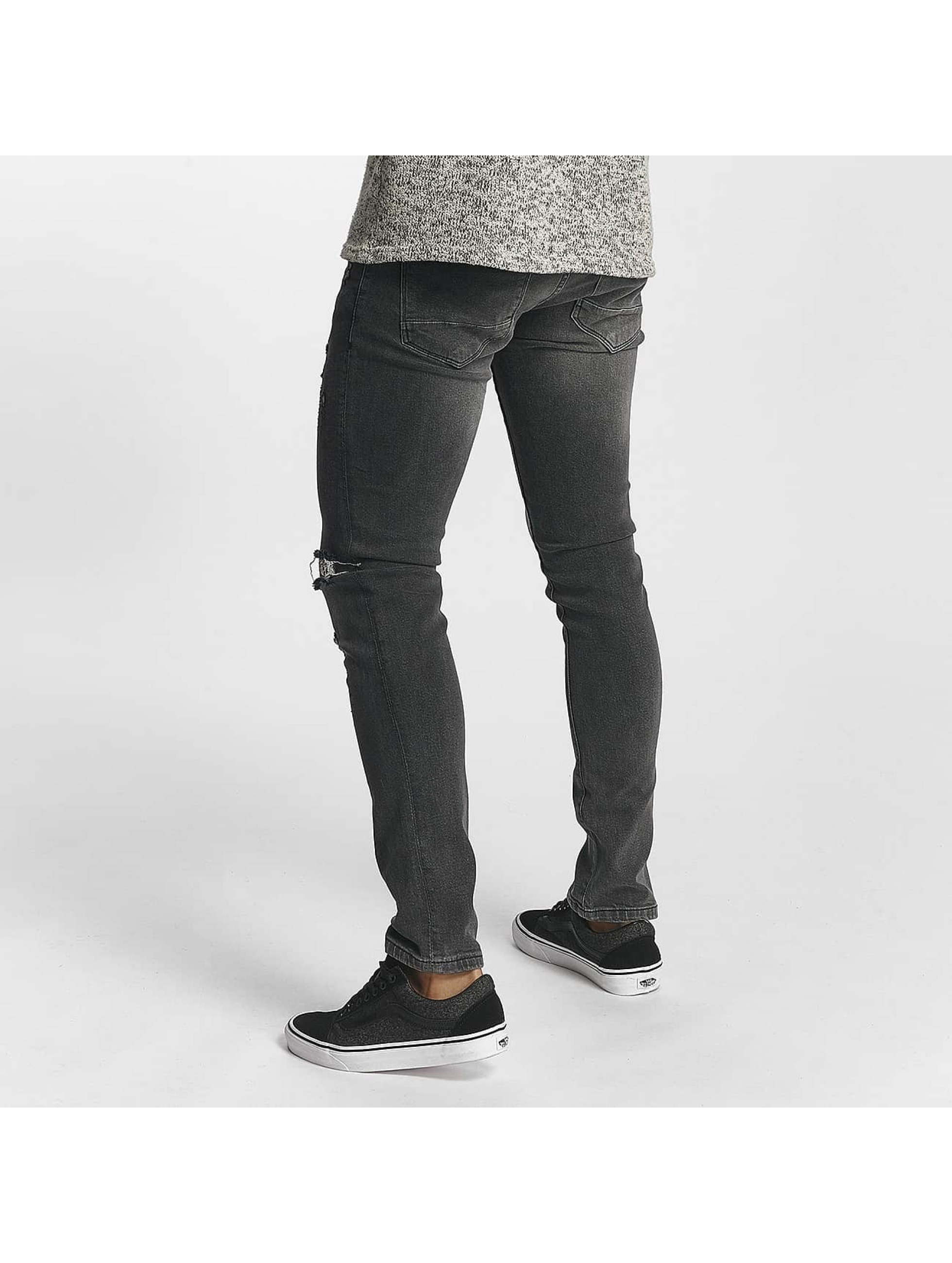 2Y Slim Fit Jeans William šedá