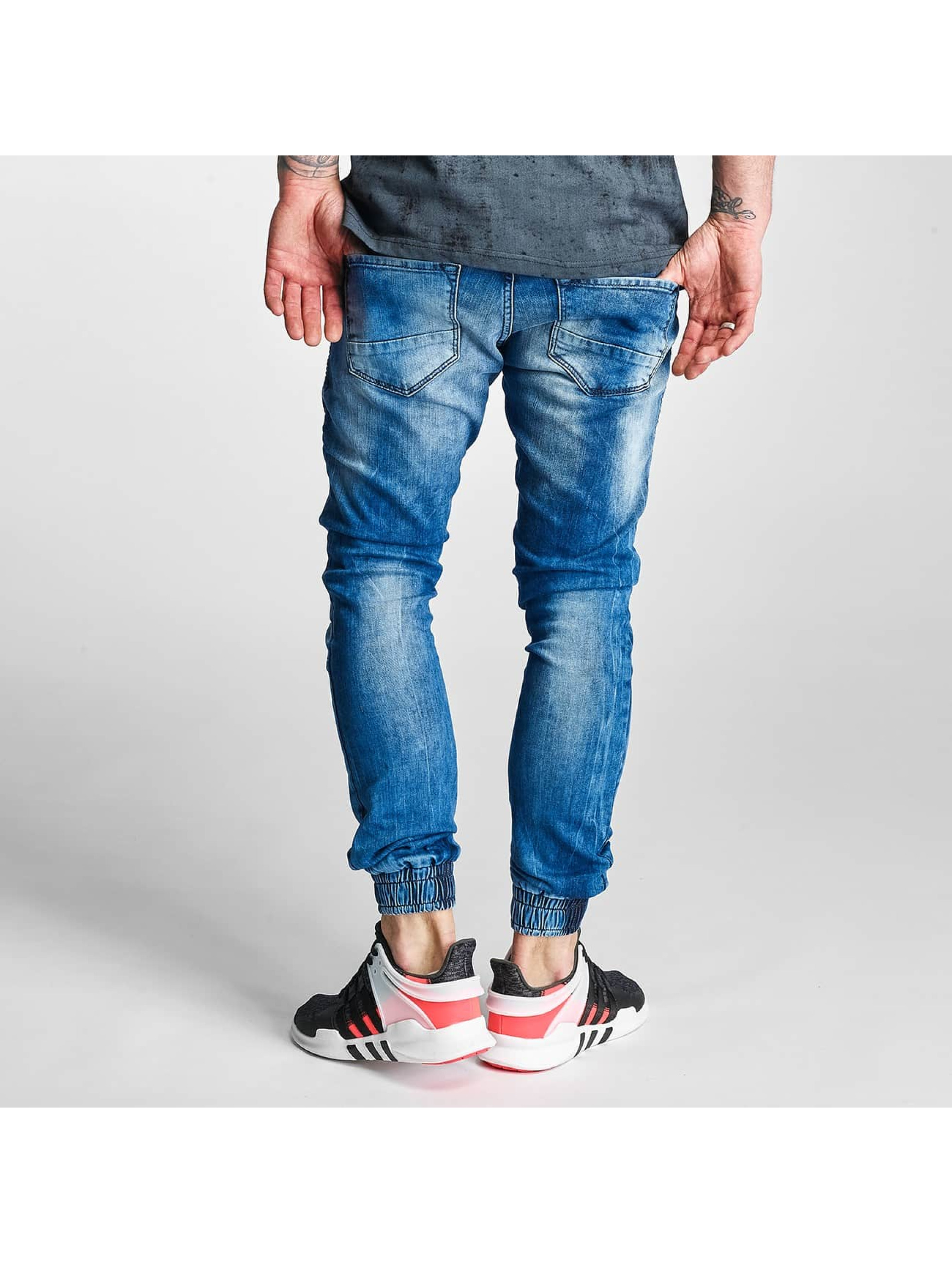 2Y Slim Fit Jeans Denim blau