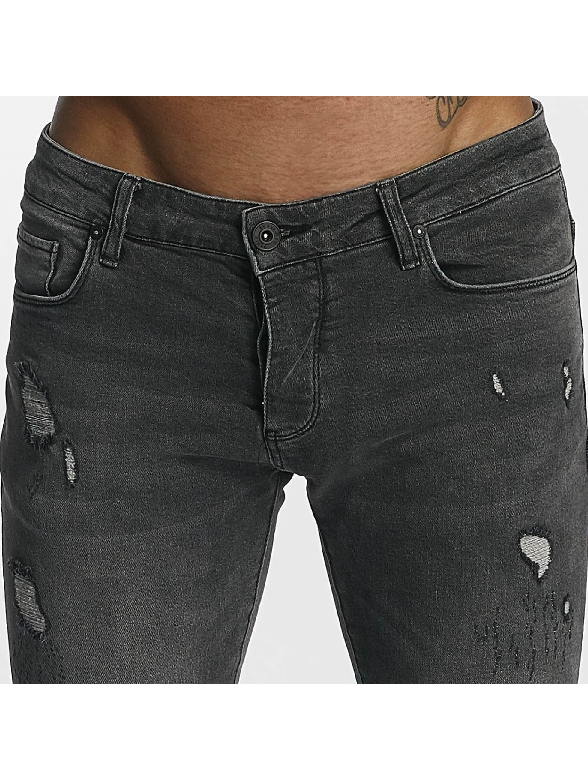 2Y Slim Fit Jeans William grå