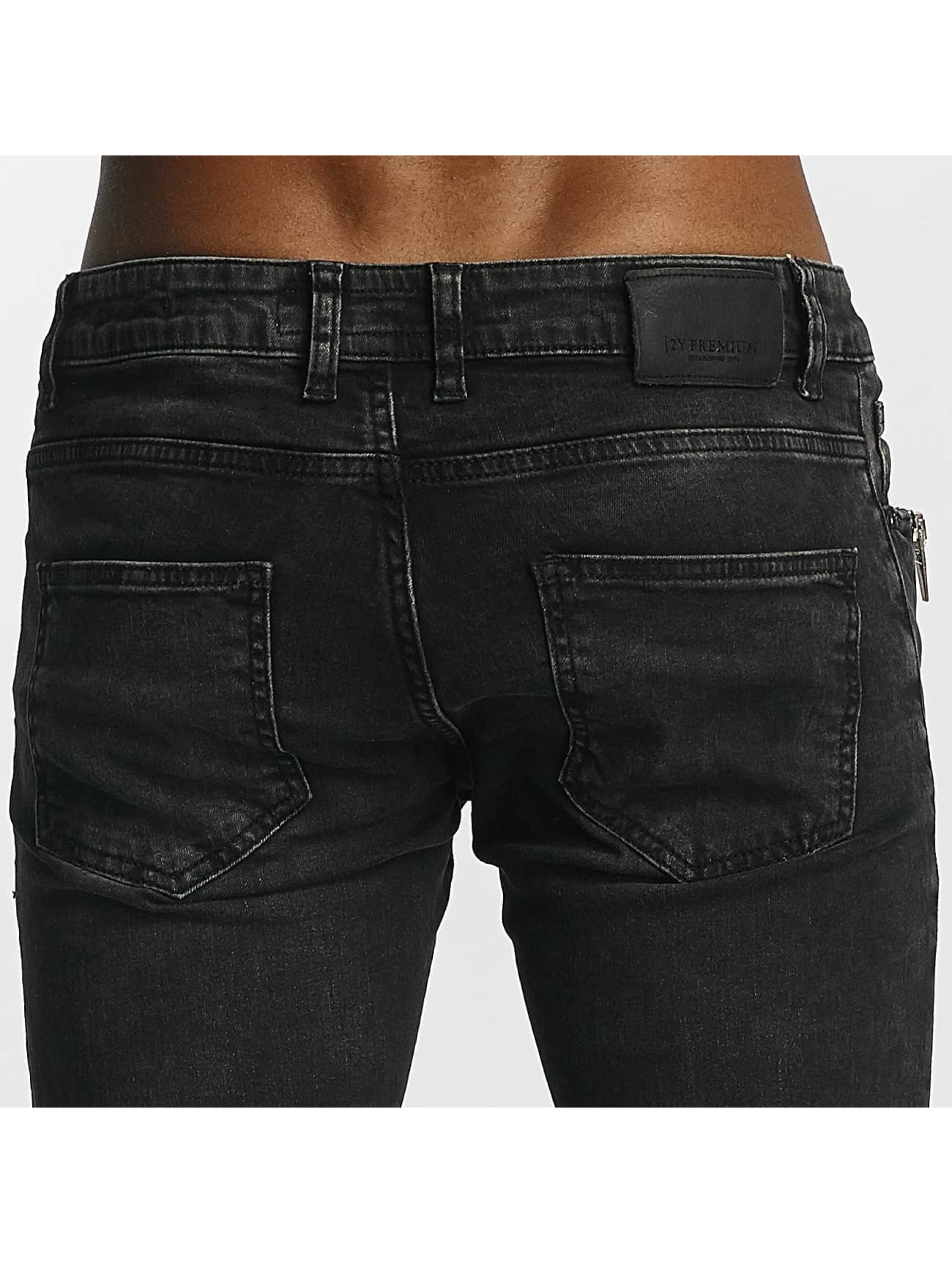 2Y Slim Fit Jeans Thomas grau