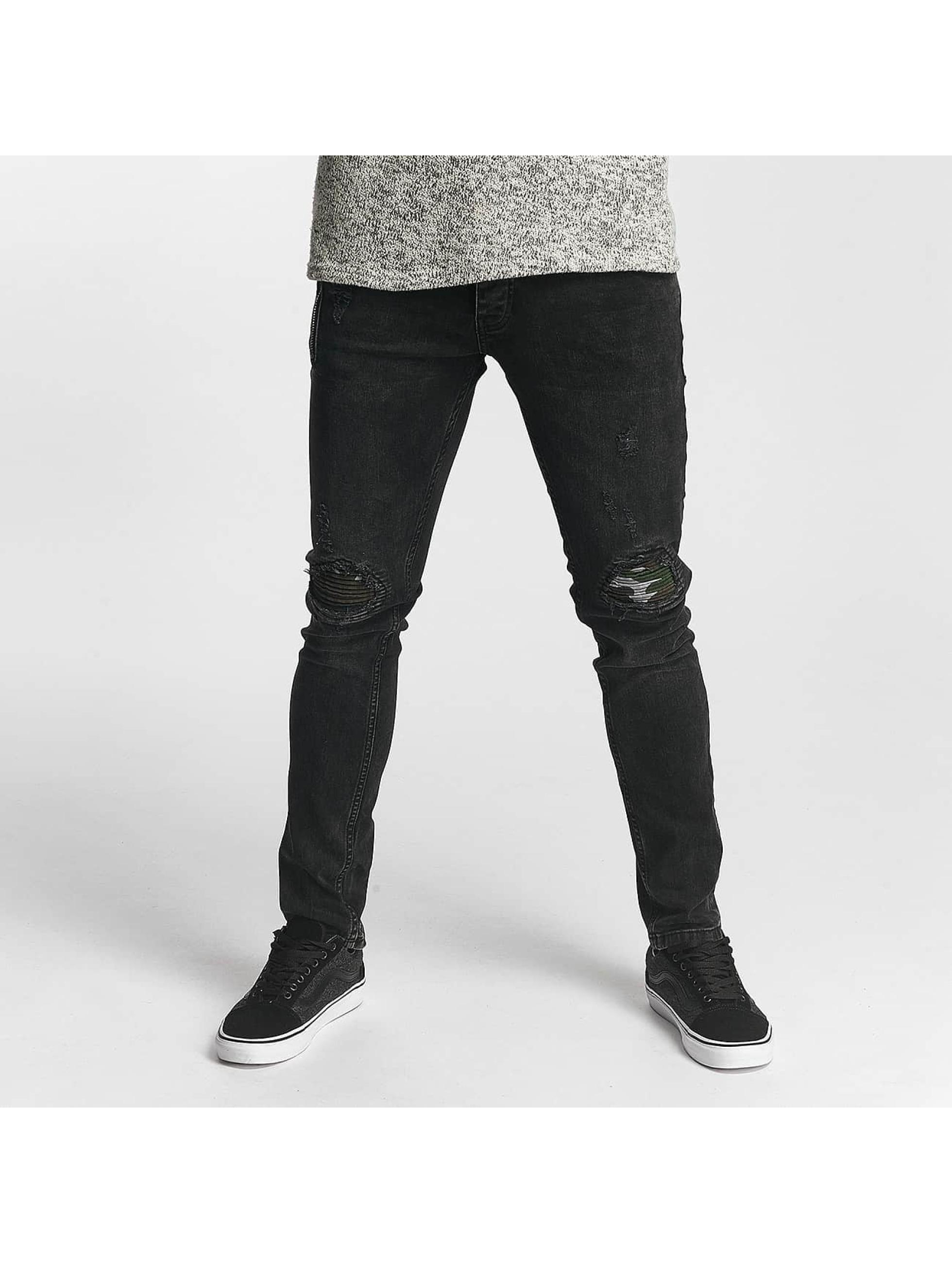 2Y Slim Fit Jeans Thomas grijs
