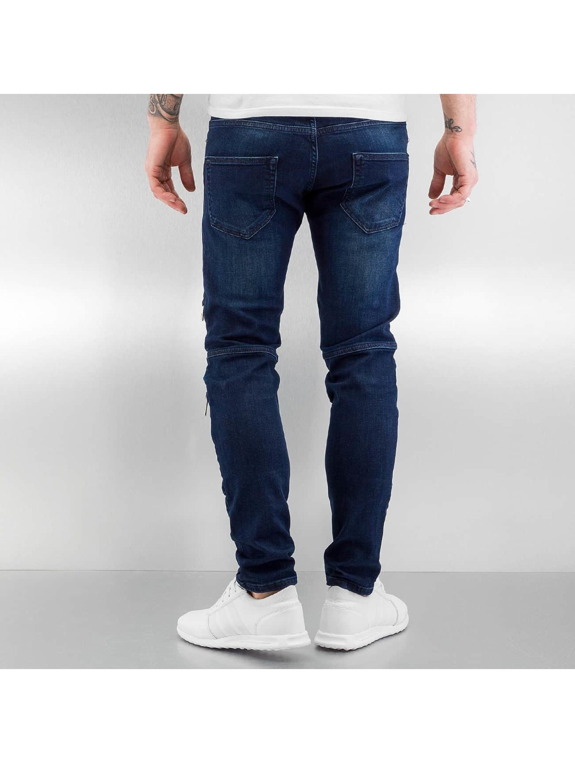 2Y Slim Fit Jeans Leyton modrá