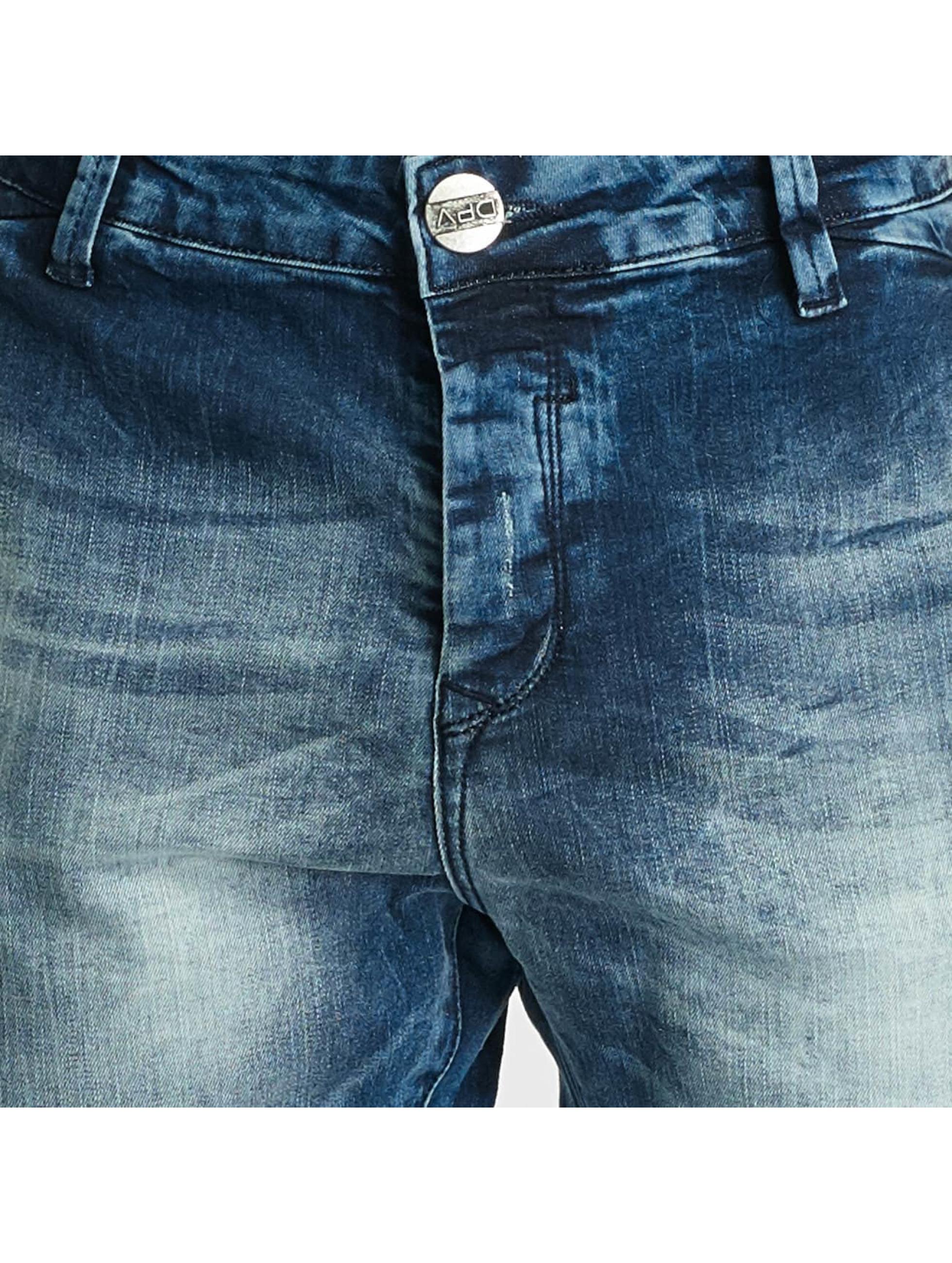 2Y Slim Fit Jeans Kiel modrá