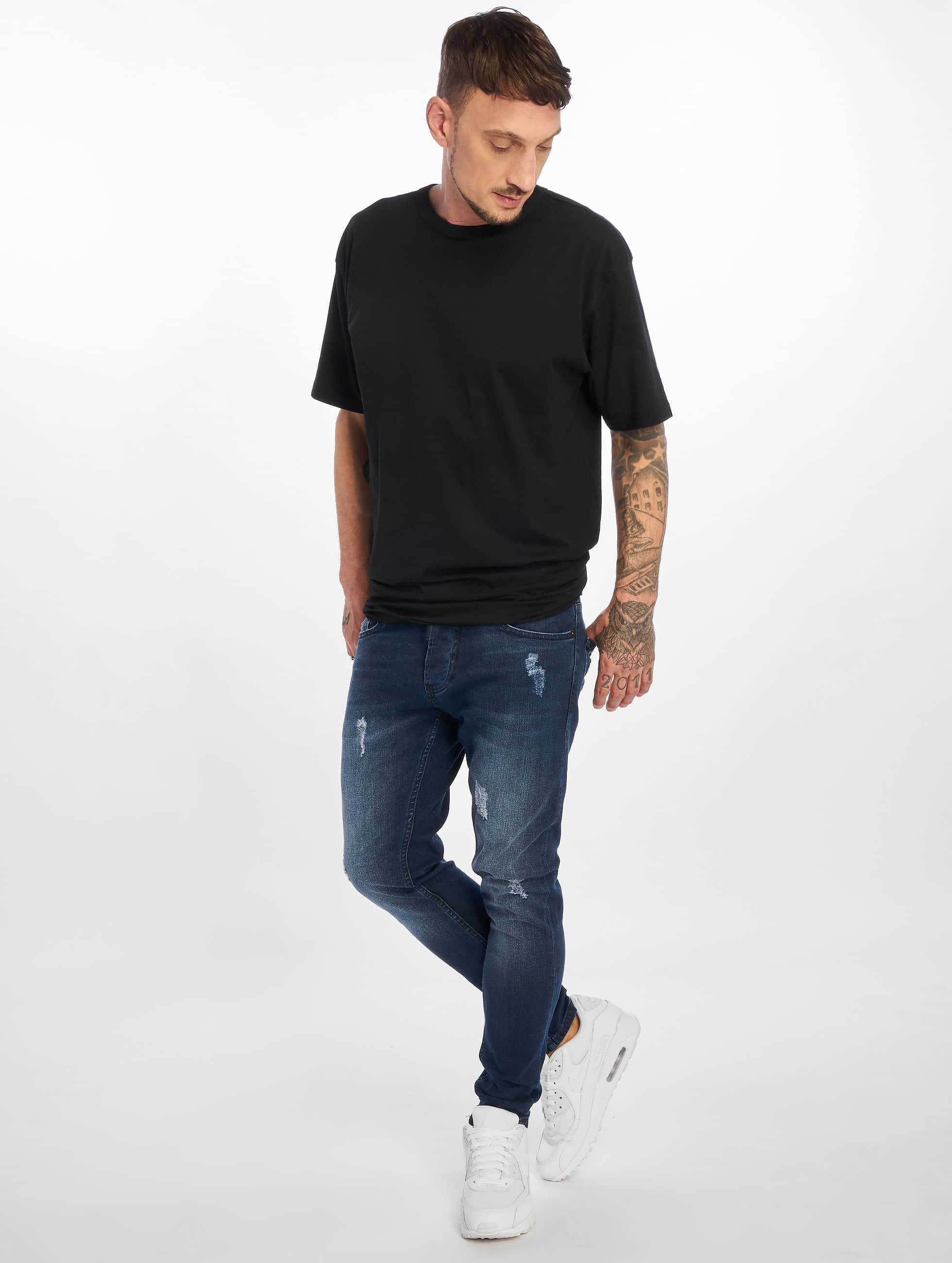 2Y Slim Fit Jeans Charlie modrá
