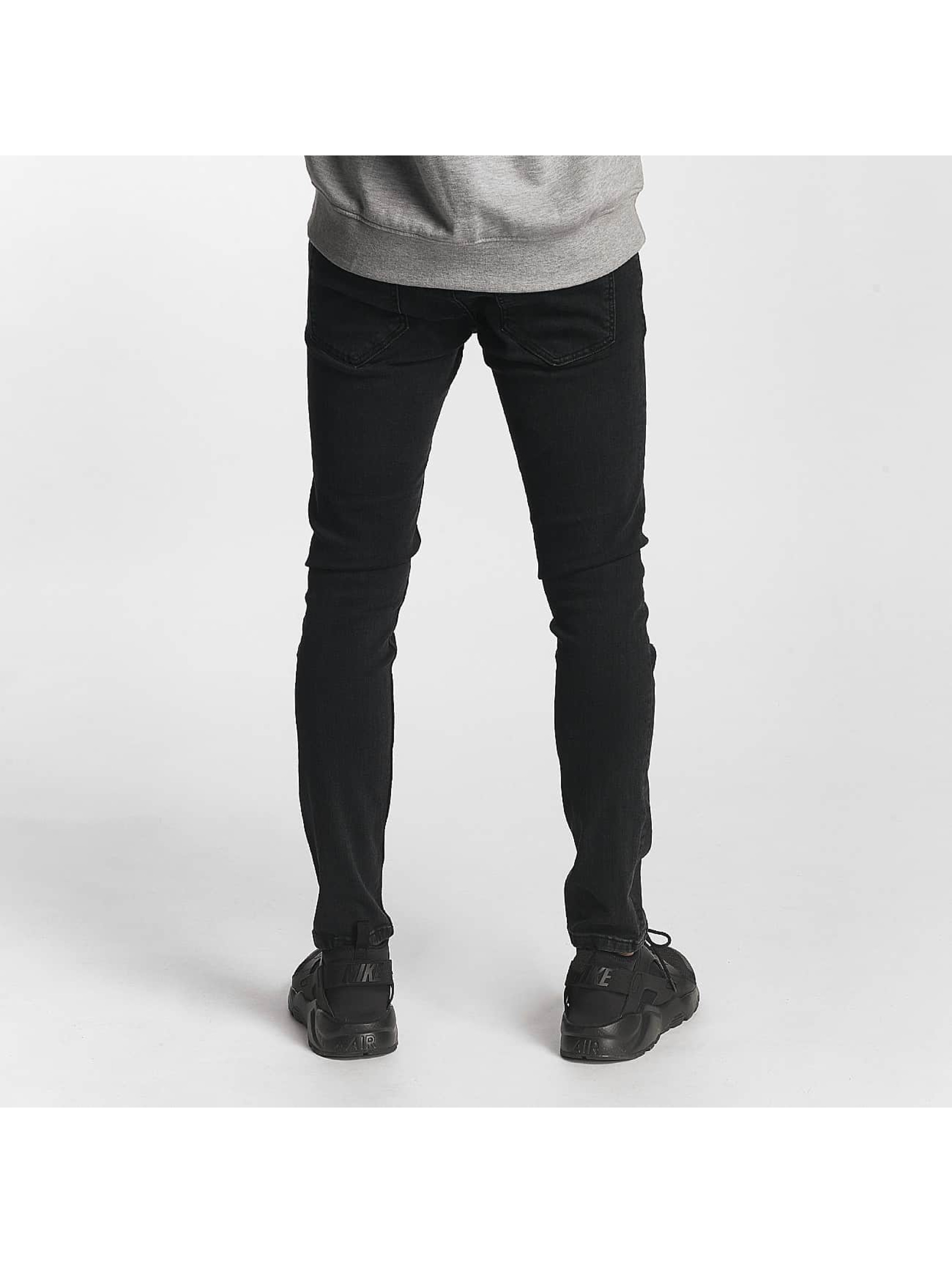 2Y Slim Fit Jeans Oliver svart
