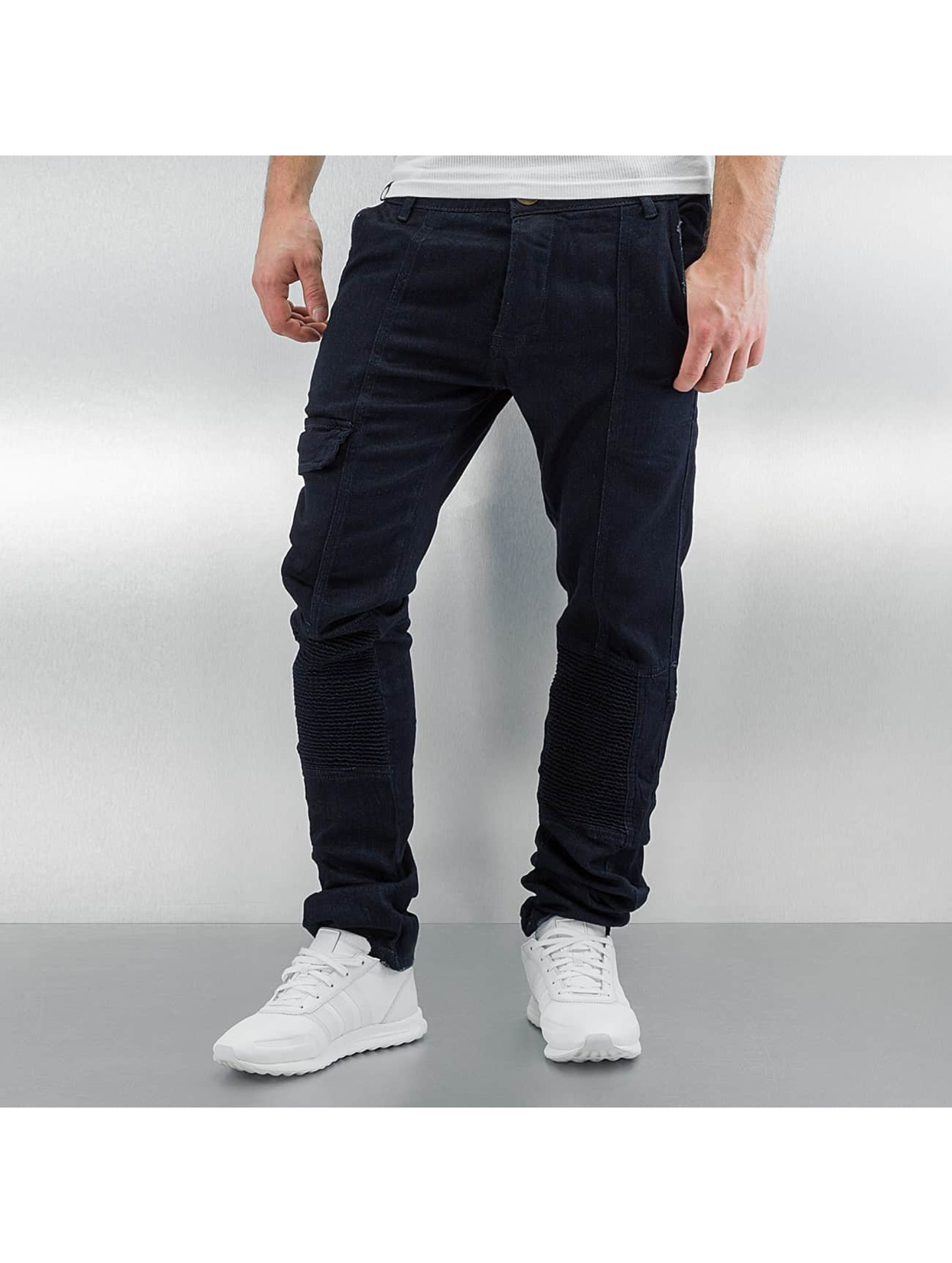 Straight Fit Jeans Aaqil in blau