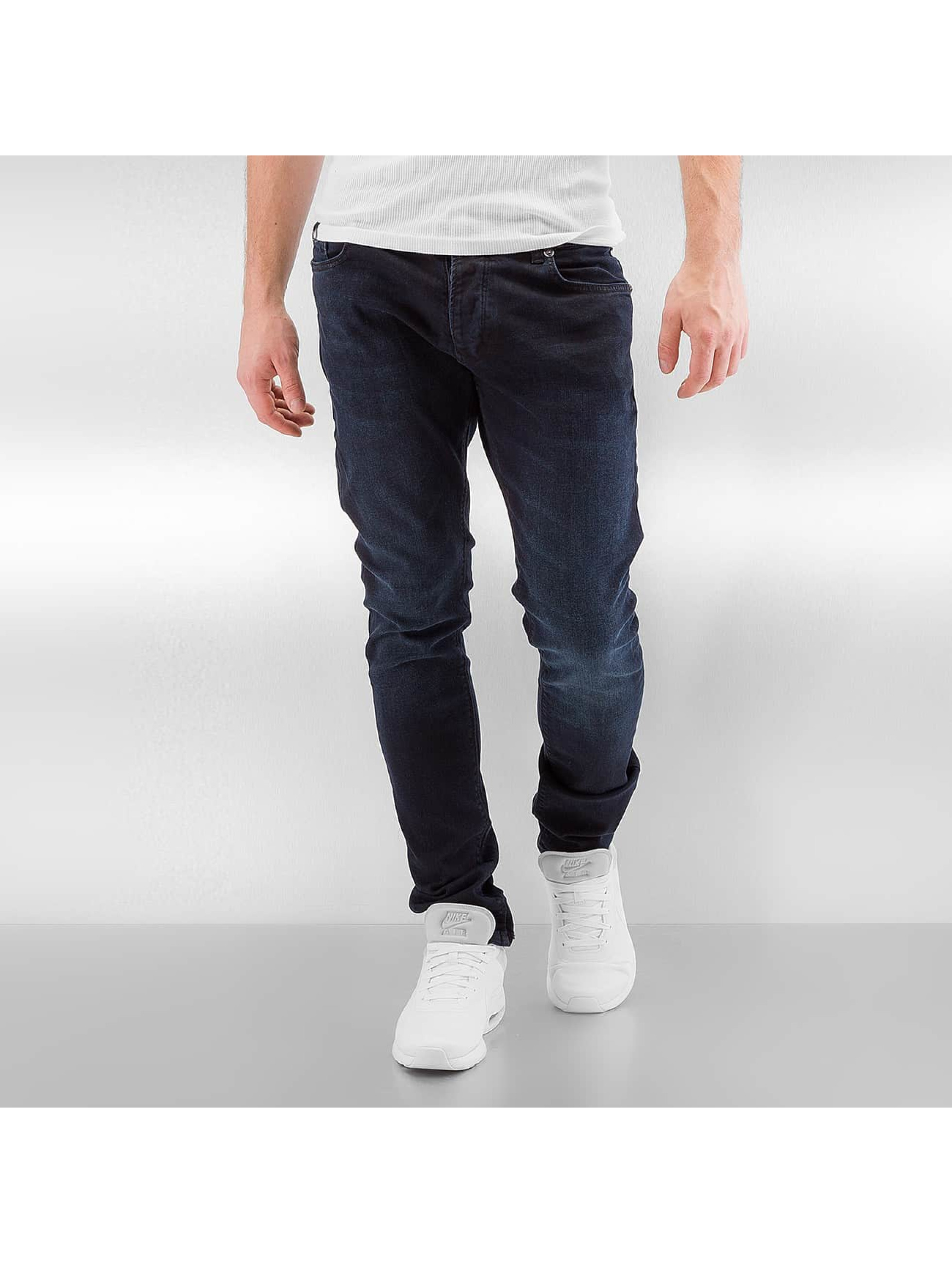 Straight Fit Jeans Indra in blau