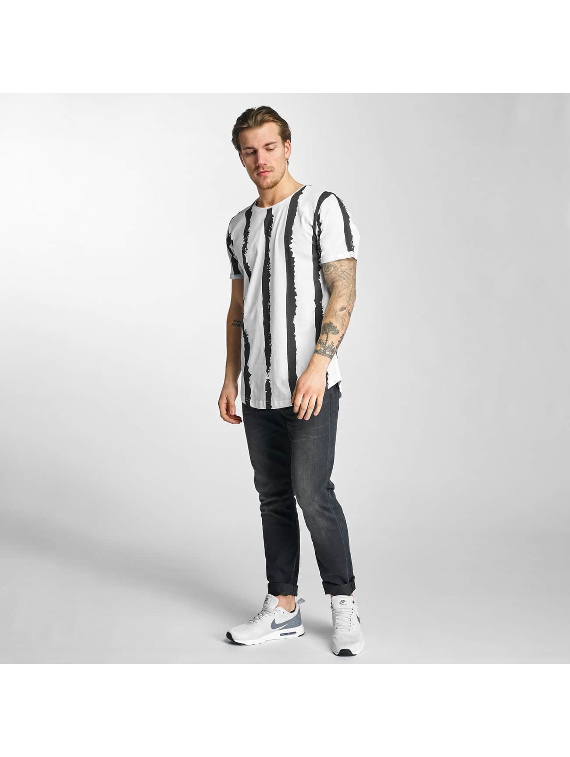 2Y T-Shirt Stripes blanc