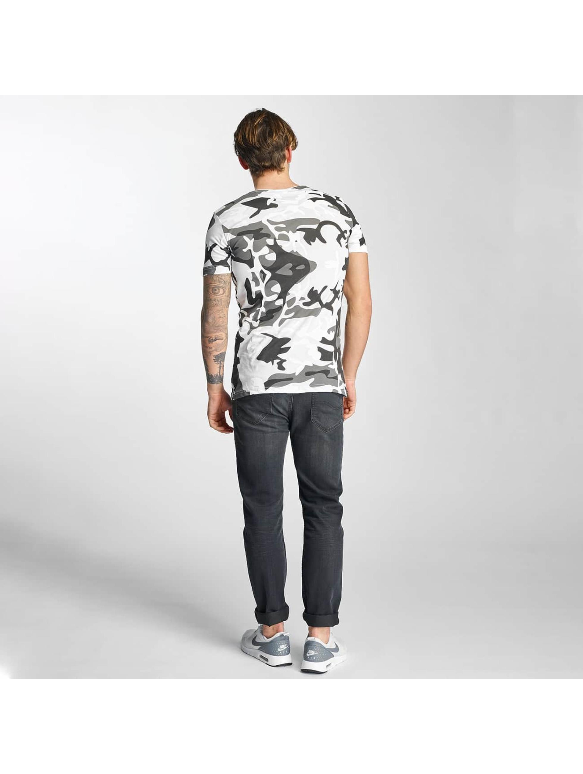2Y T-Shirt Camo blanc