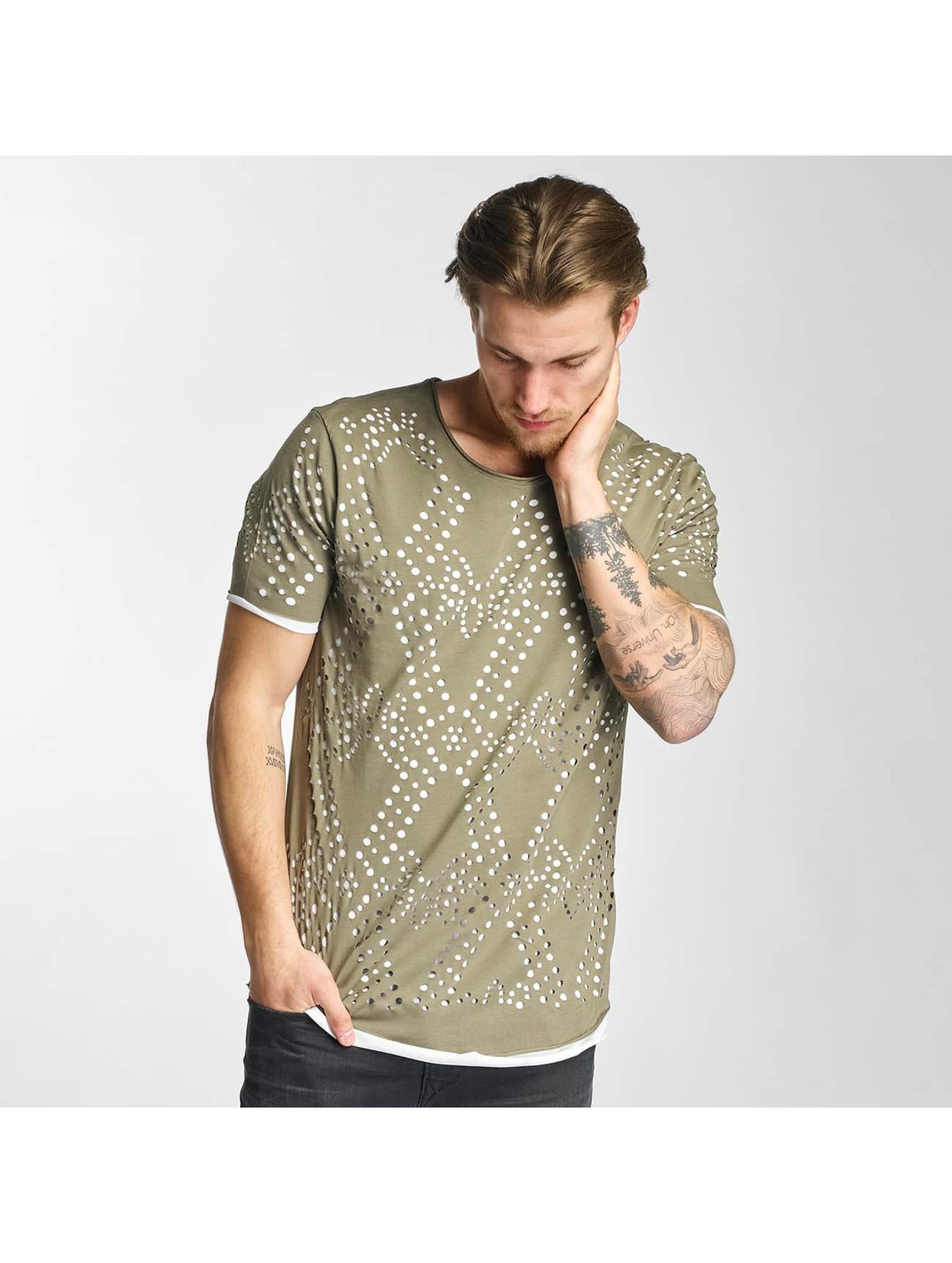 2Y T-Shirt Holes khaki