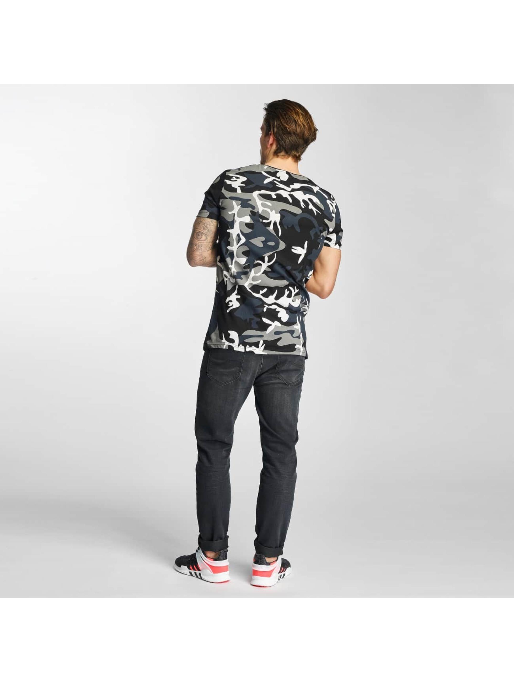 2Y T-Shirt Camo schwarz