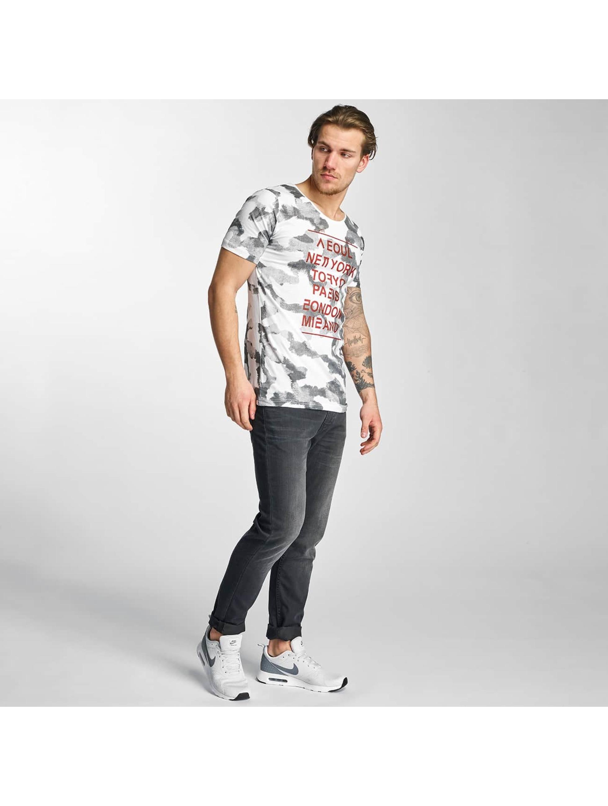 2Y T-Shirt City Love weiß