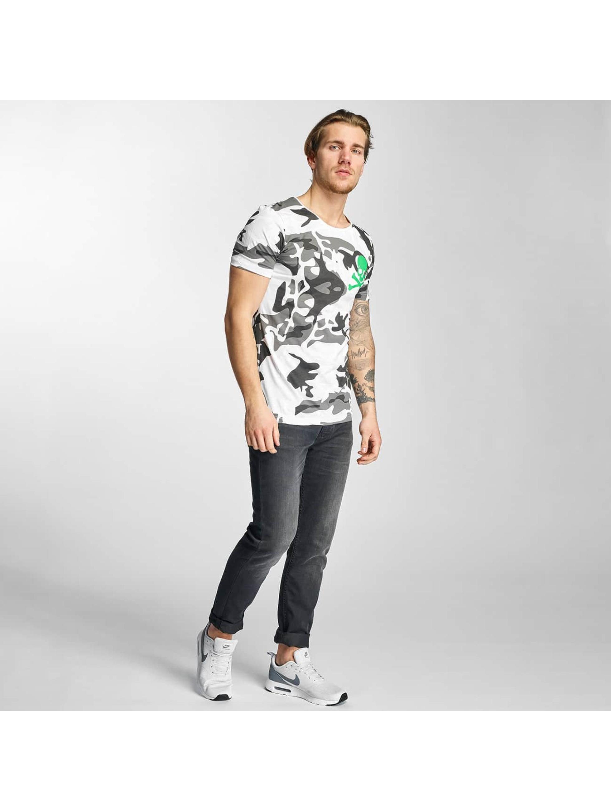 2Y T-Shirt Camo weiß