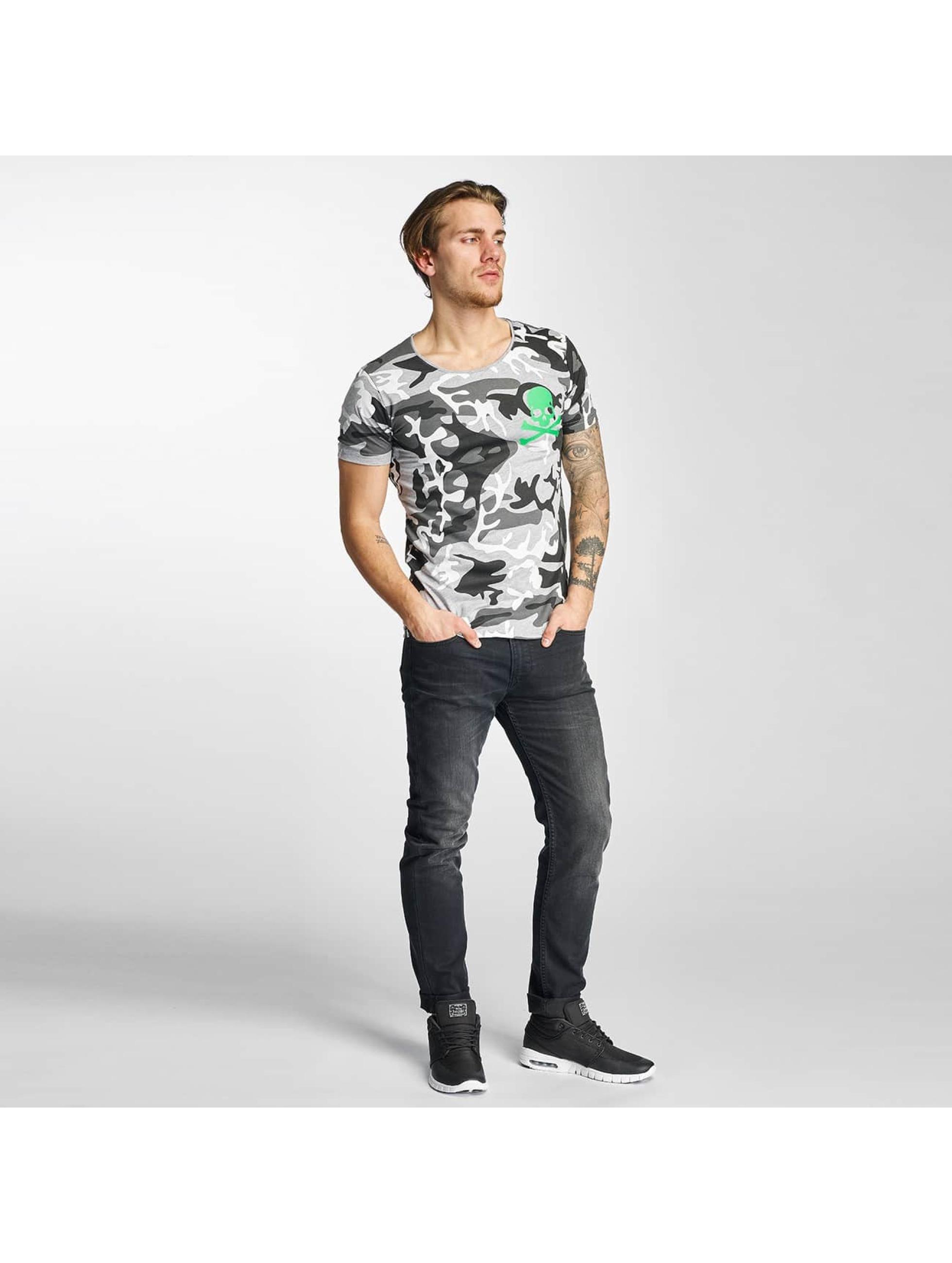 2Y T-shirts Camo grå
