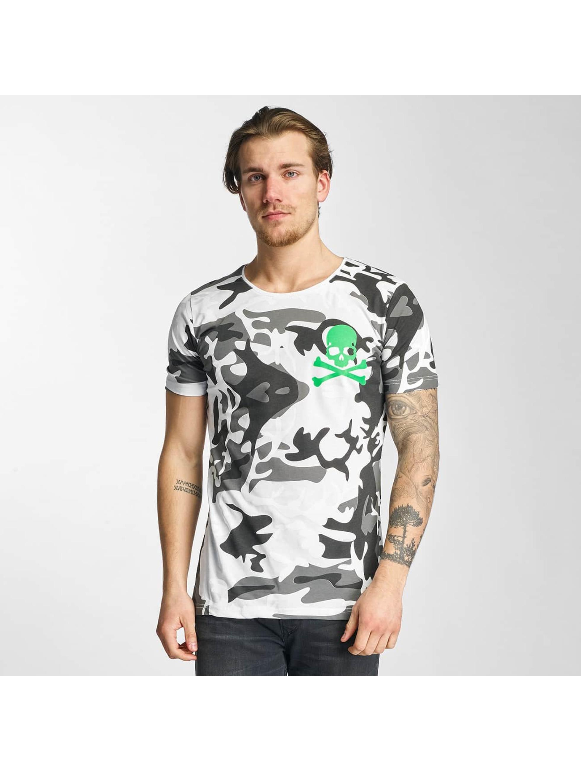 2Y T-shirts Camo hvid