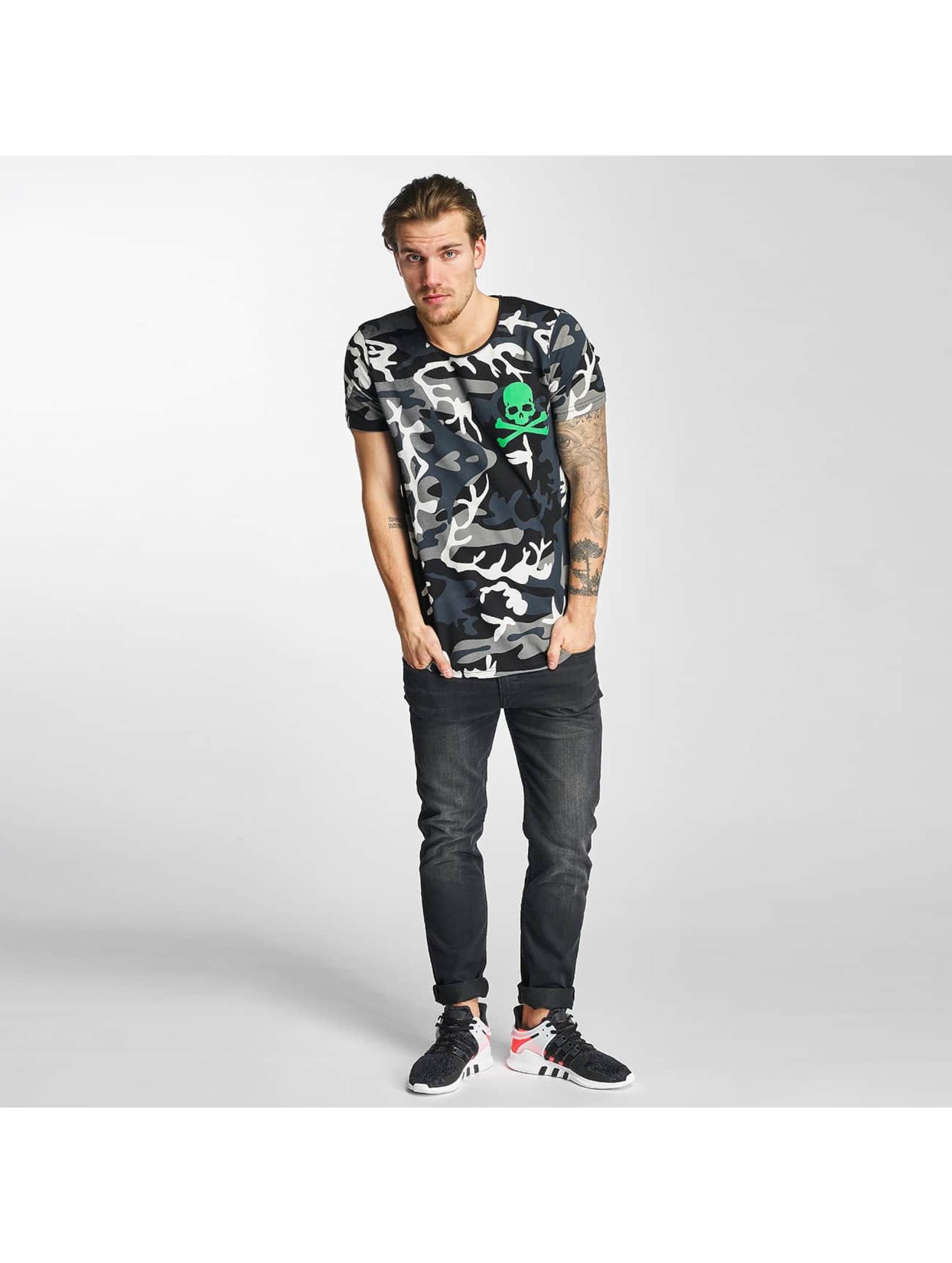 2Y T-shirts Camo sort