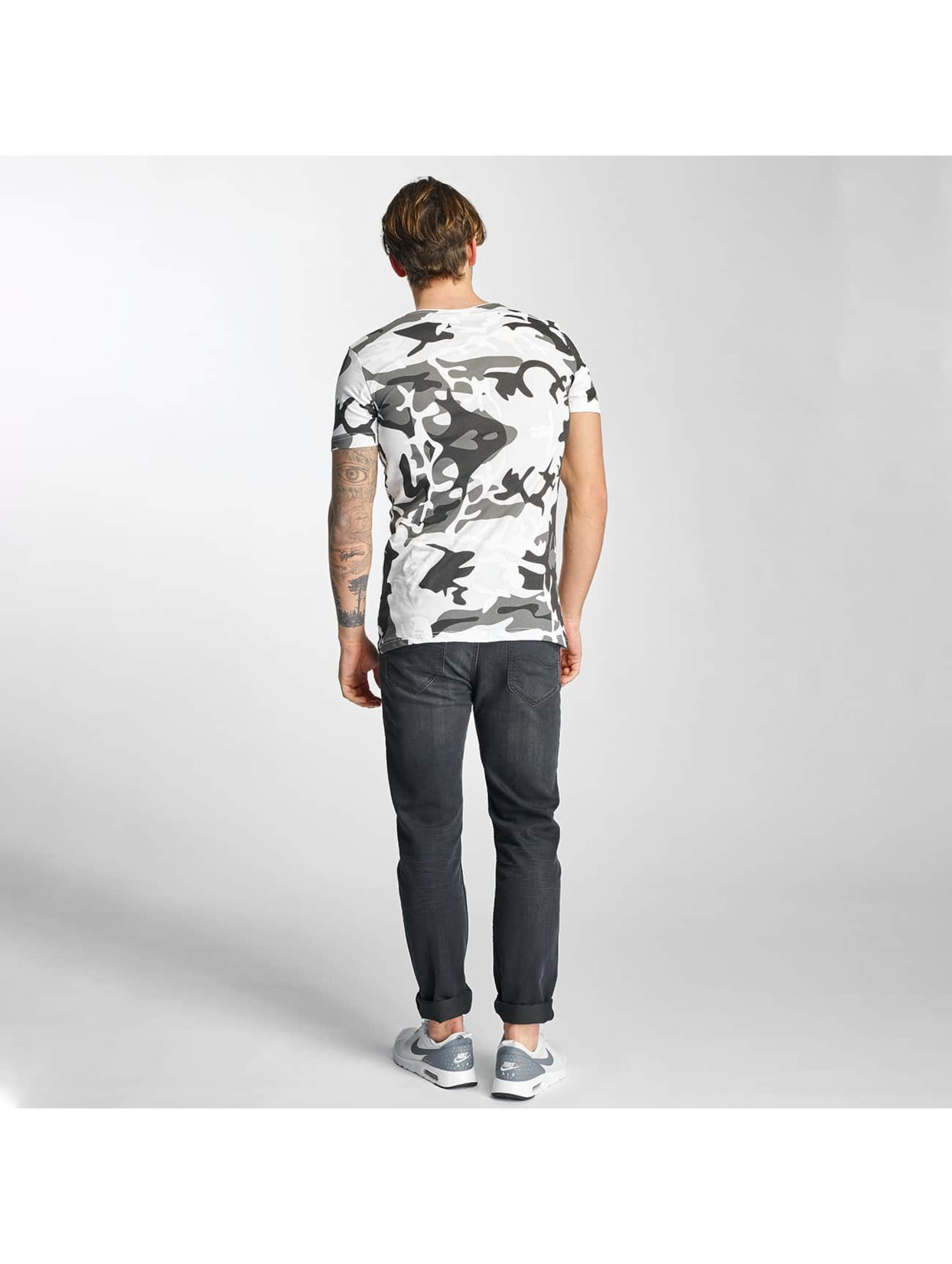 2Y T-Shirty Camo bialy
