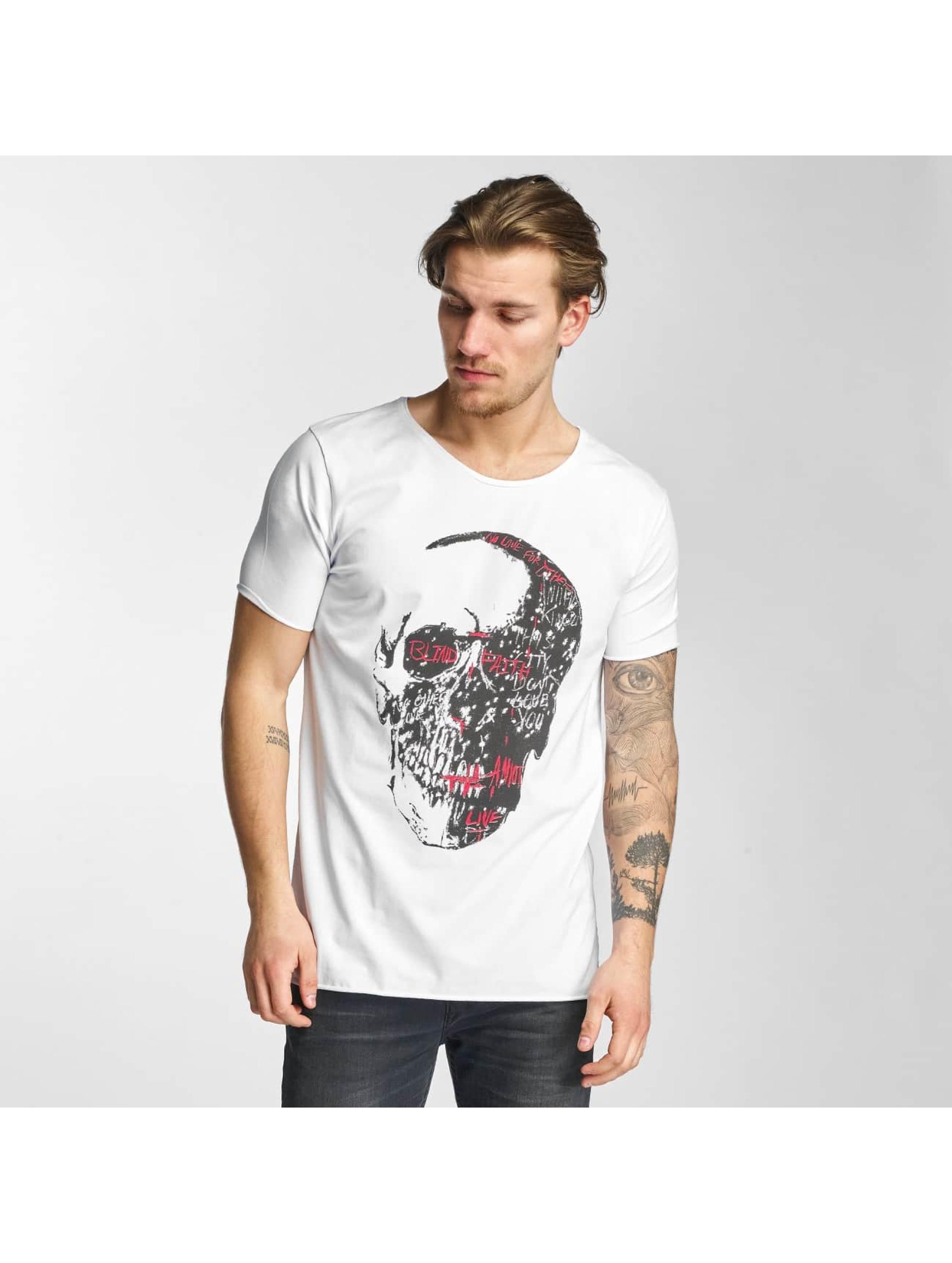 2Y T-skjorter Skull hvit